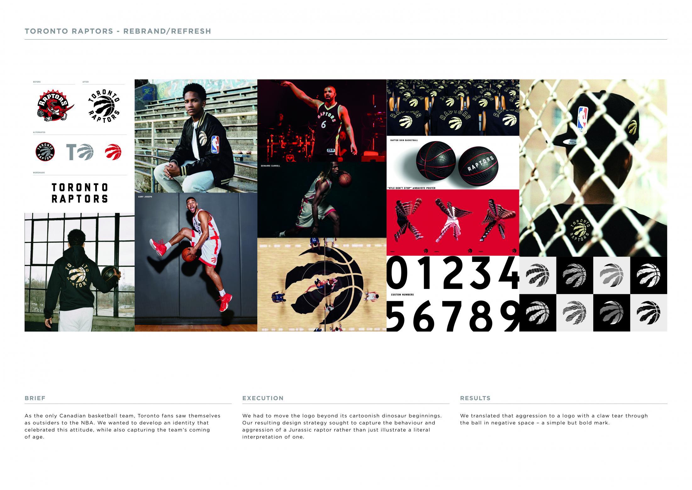 Thumbnail for Toronto Raptors Rebrand