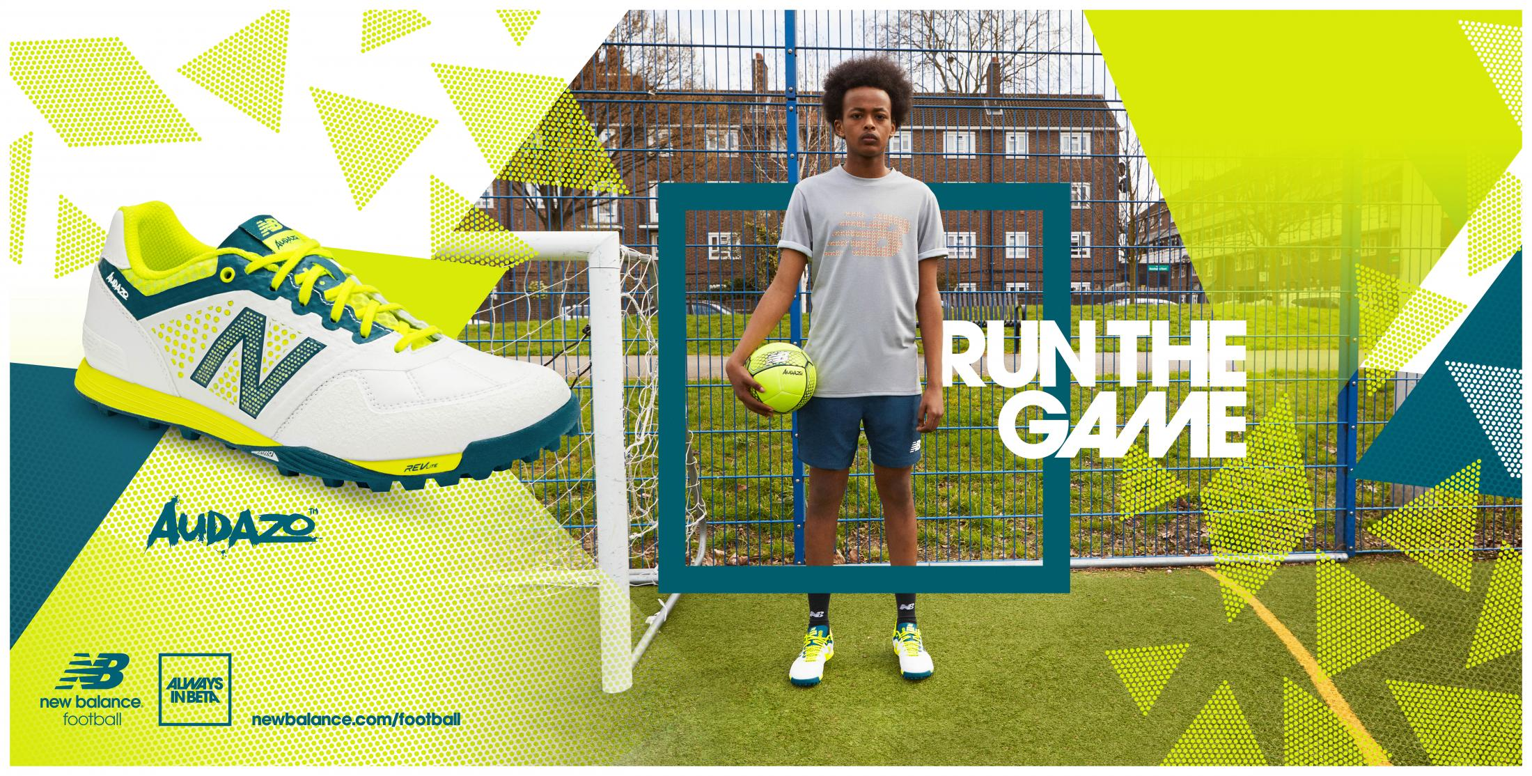 Thumbnail for New Balance Football - Audazo Launch