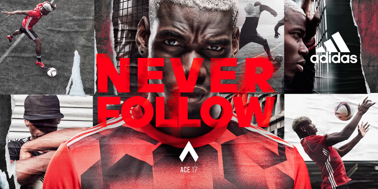 Thumbnail for adidas Never Follow feat. Paul Pogba