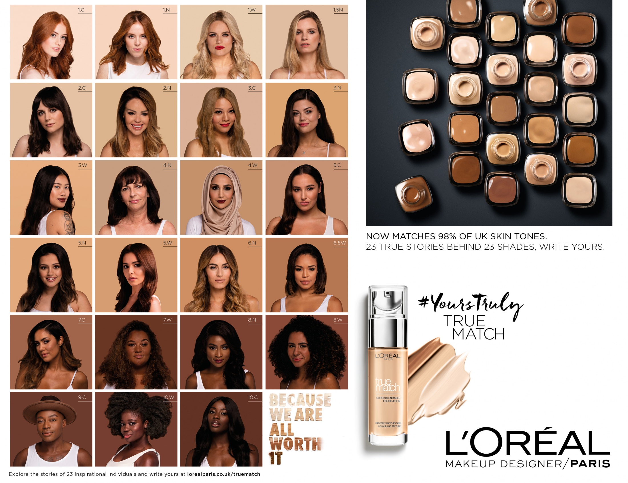 Thumbnail for True Match: 23 shades, 23 stories