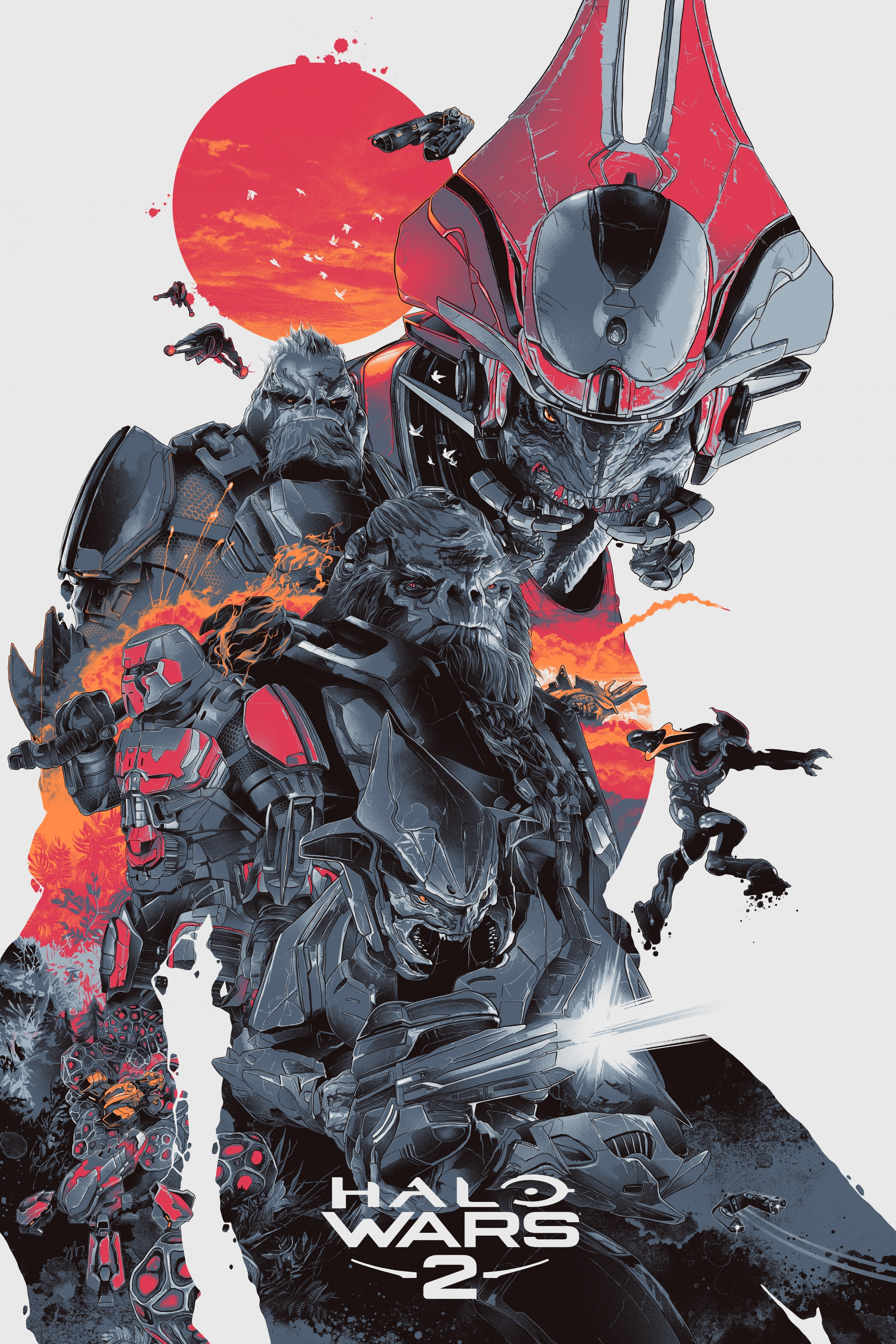 Image Media for Halo Wars 2 Art Series- Shipmaster