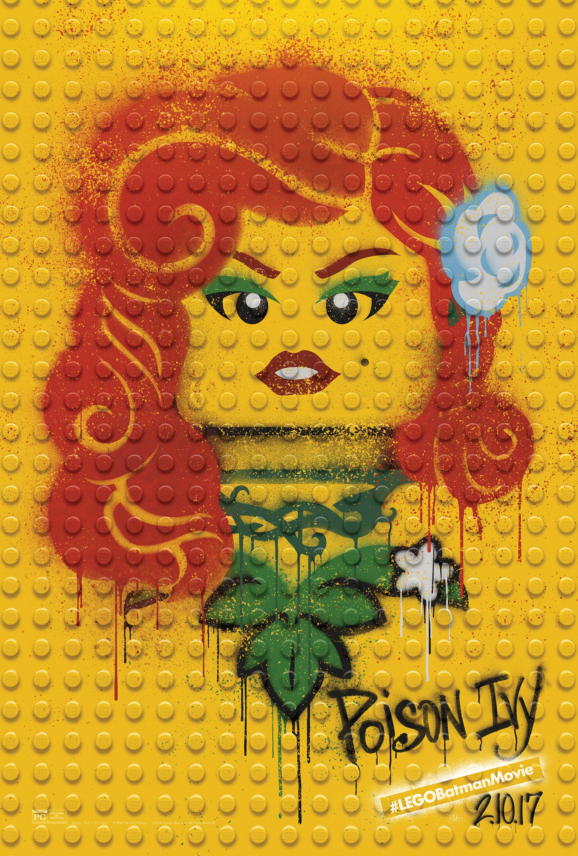 Image Media for The LEGO Batman Movie - Graffiti Wild Postings | Poison Ivy