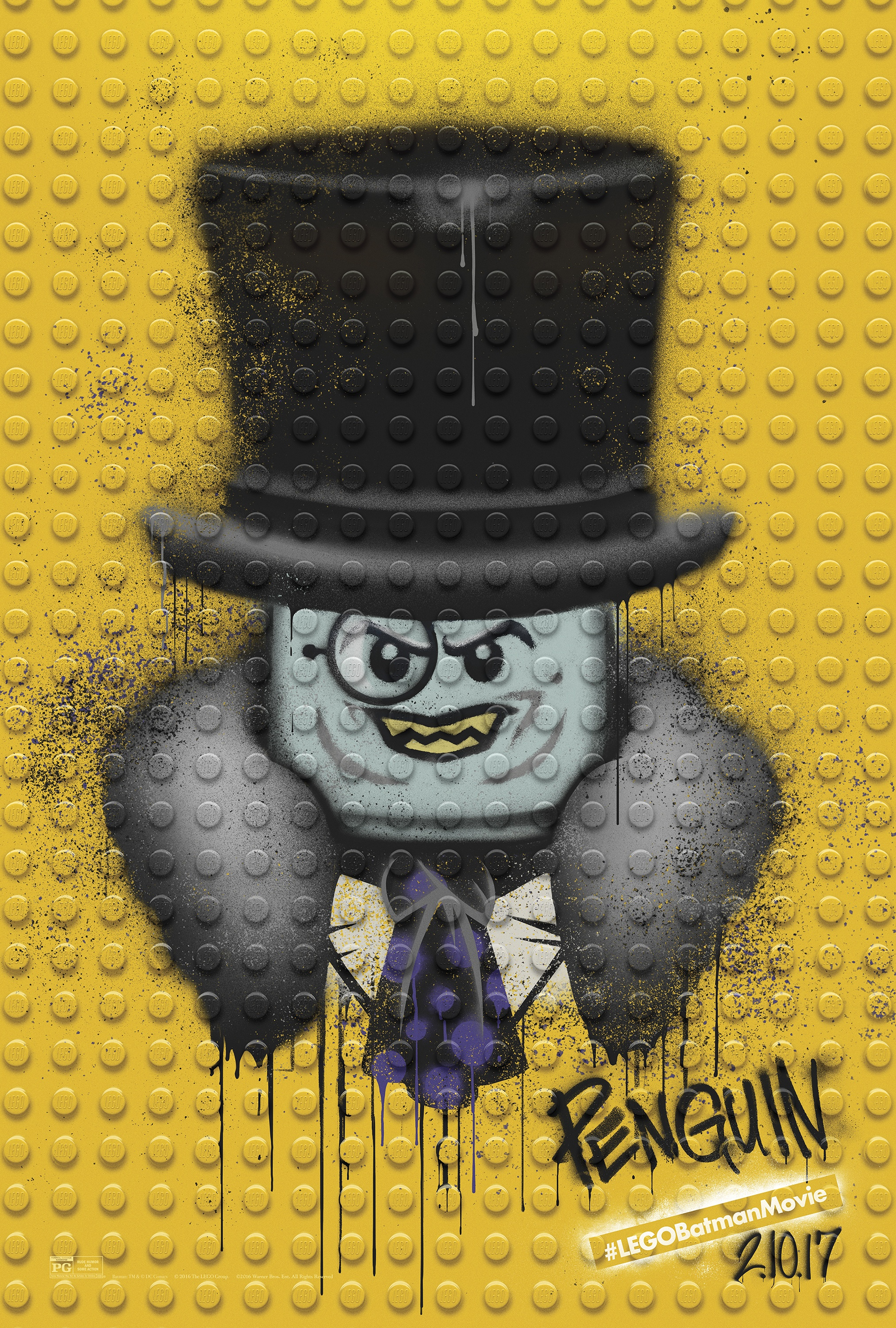 Thumbnail for The LEGO Batman Movie - Graffiti Wild Postings | Penguin