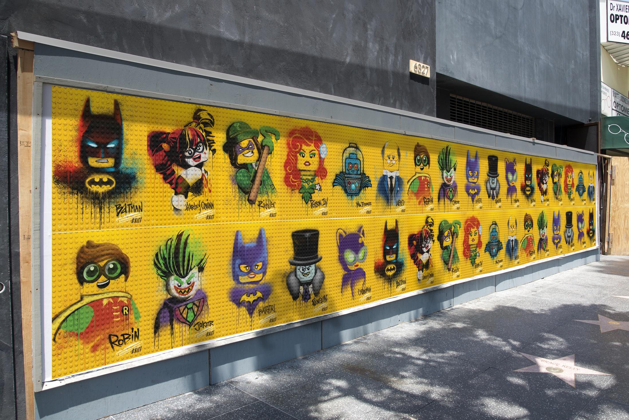 Thumbnail for The LEGO Batman Movie - Graffiti Wild Postings