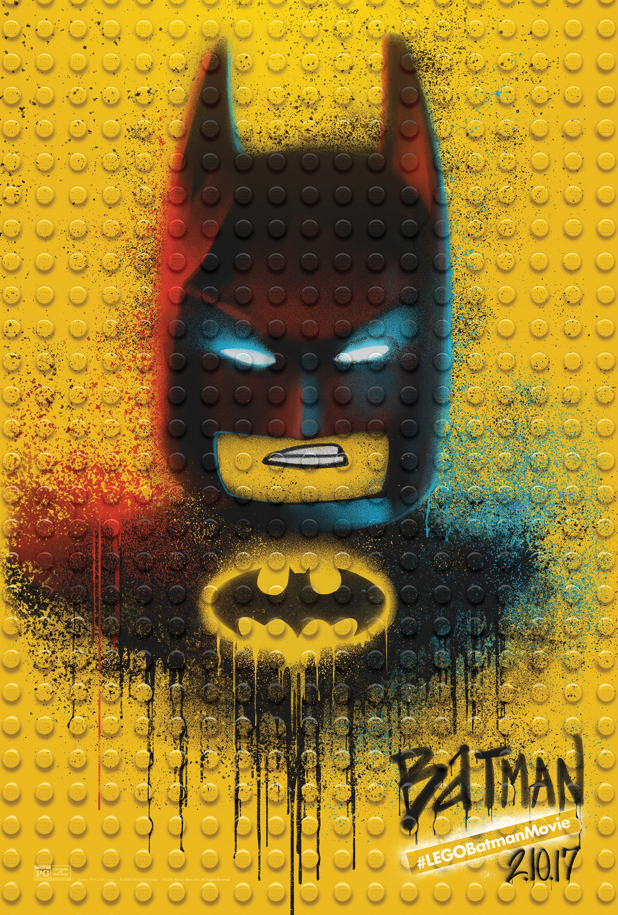 Thumbnail for The LEGO Batman Movie - Graffiti Wild Postings | Batman