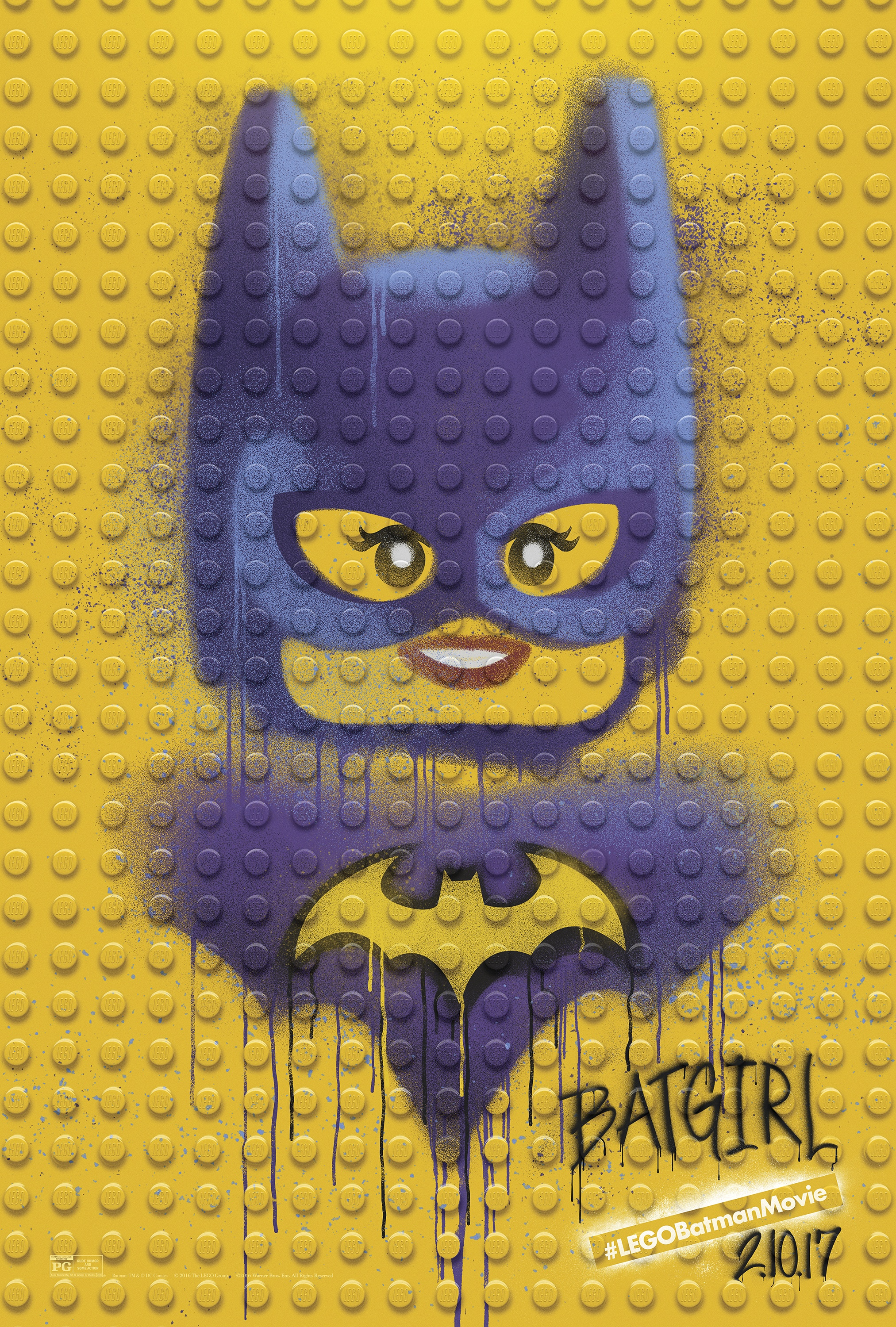 Thumbnail for The LEGO Batman Movie - Graffiti Wild Postings | Batgirl