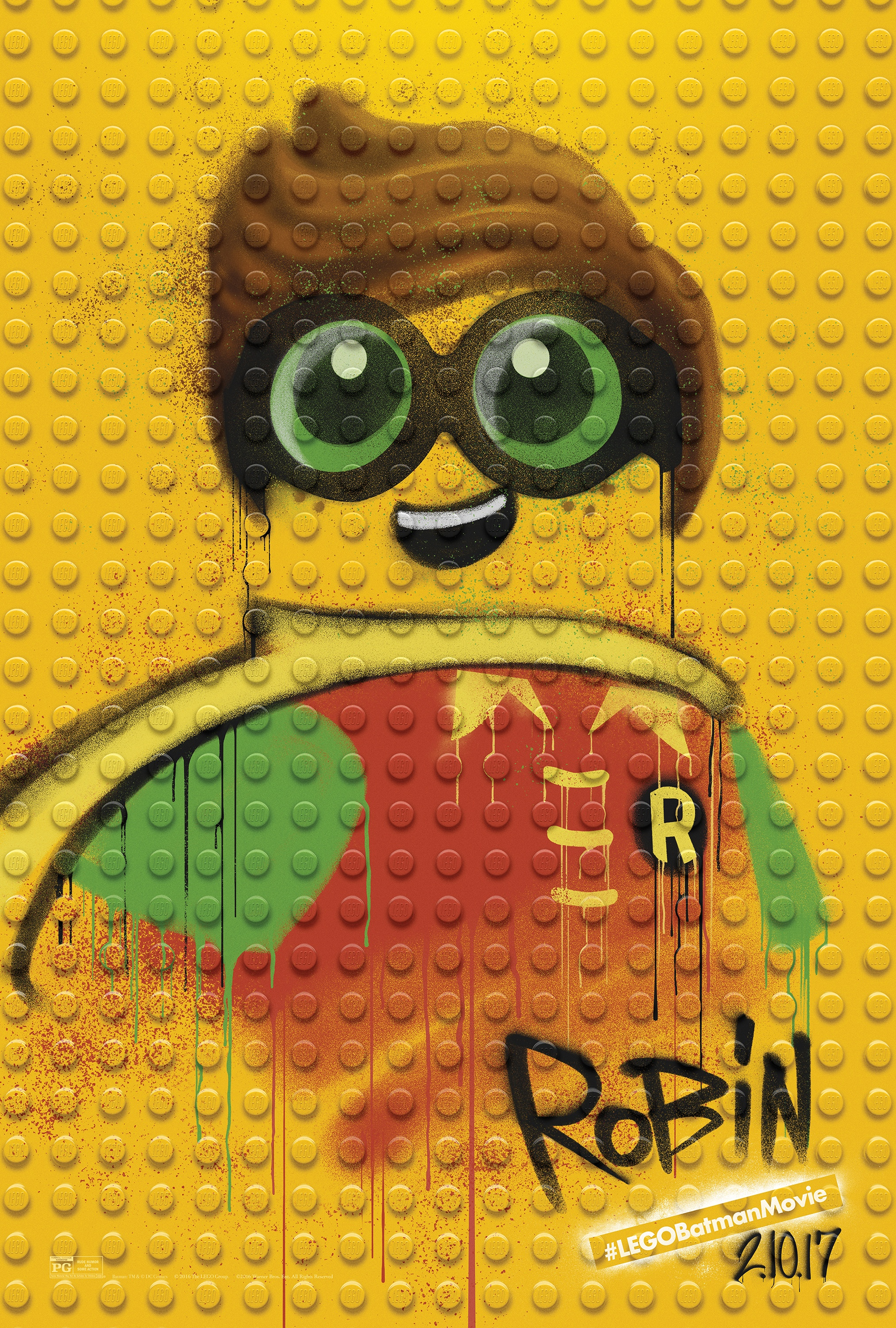 Thumbnail for The LEGO Batman Movie - Graffiti Wild Postings | Robin