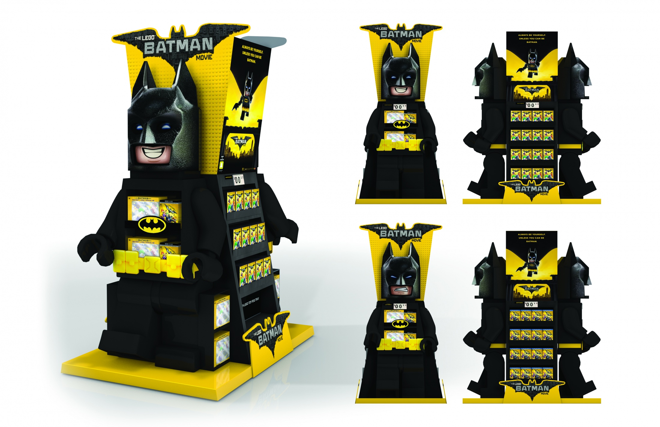Thumbnail for Walmart Lego Batman WOW Display