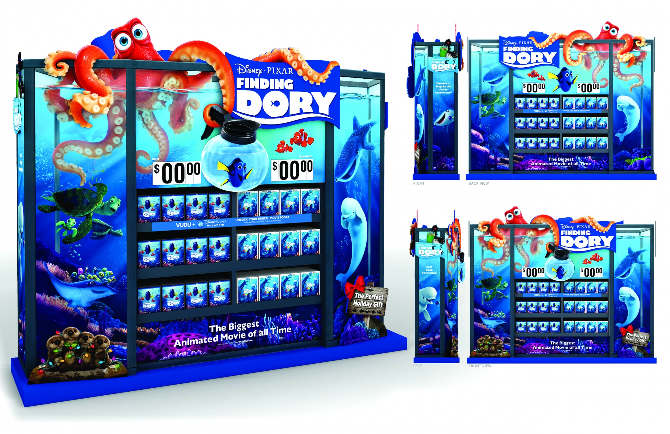 Thumbnail for Walmart Finding Dory WOW Display
