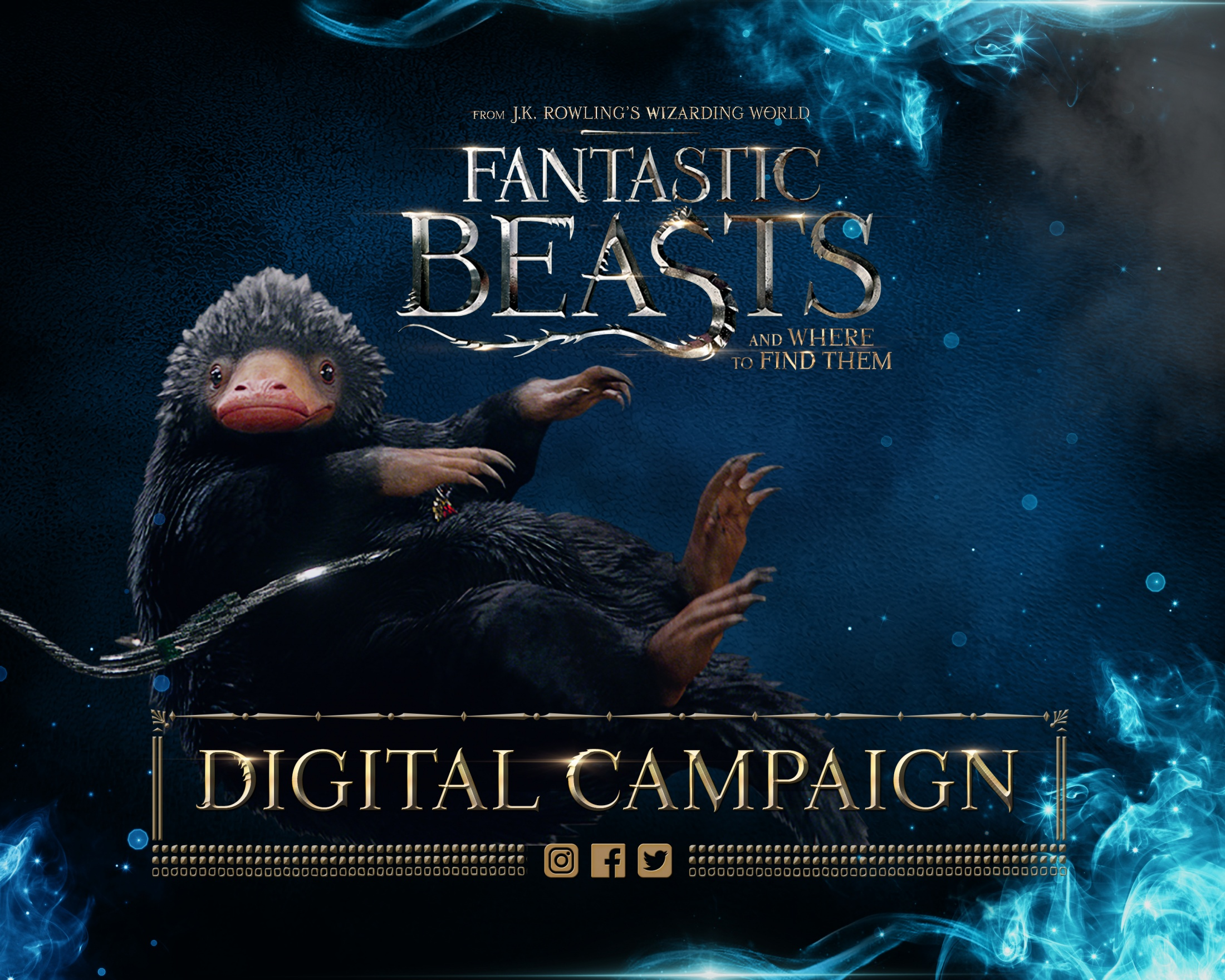 Thumbnail for Fantastic Beasts Digital Campaign