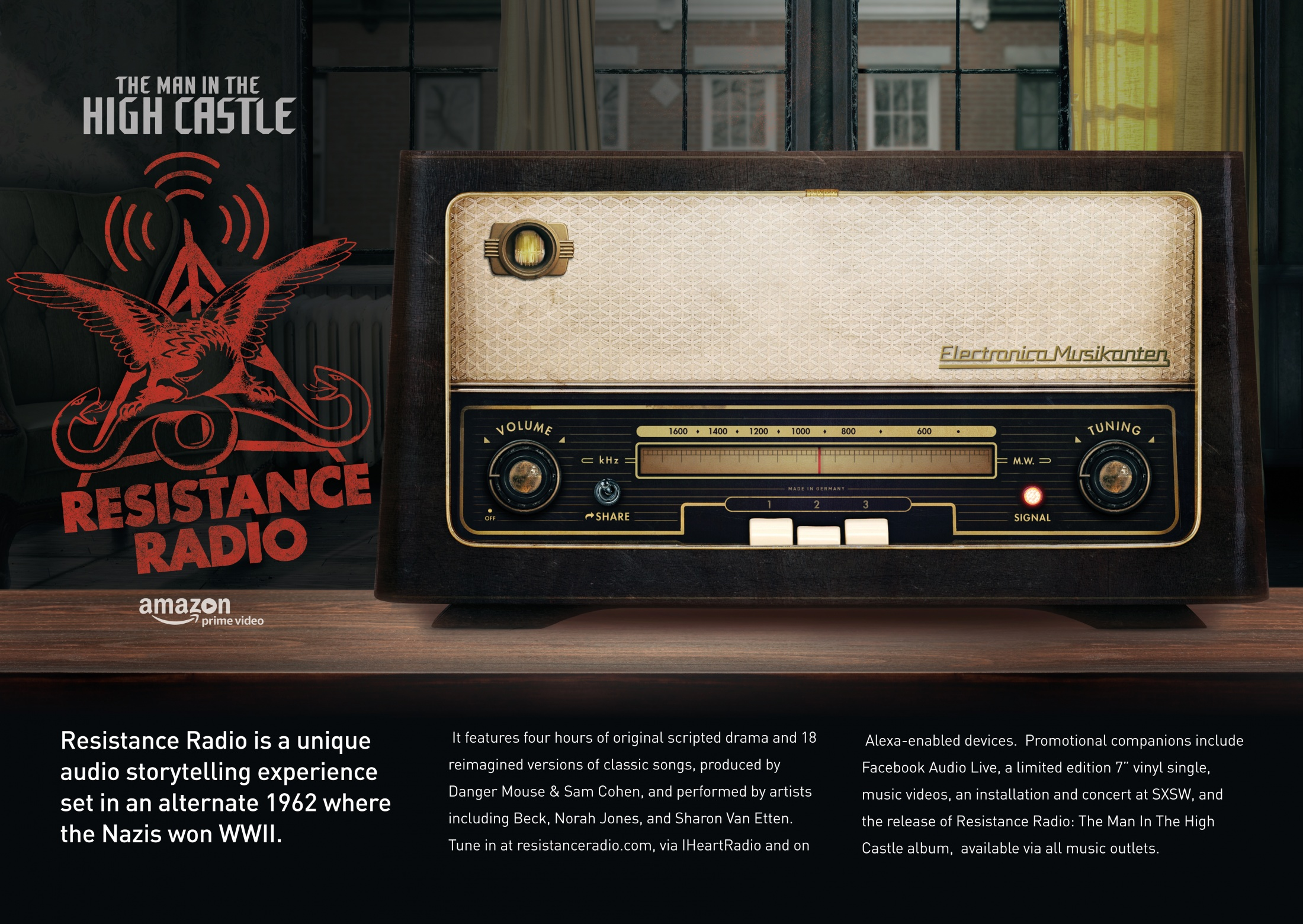 Image Media for The Man in the High Castle: Resistance Radio