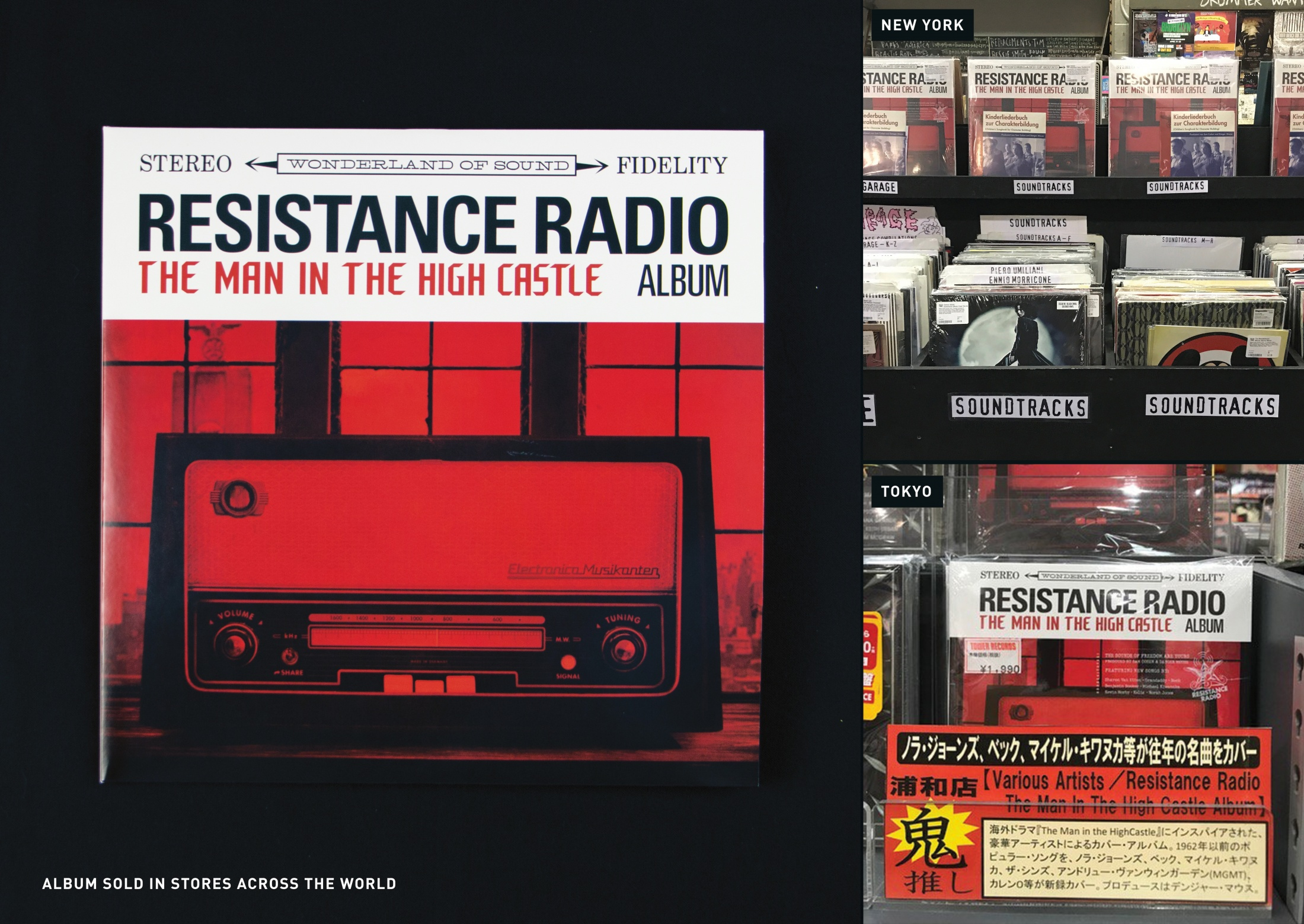 Thumbnail for The Man in the High Castle: Resistance Radio & 30th Century Records