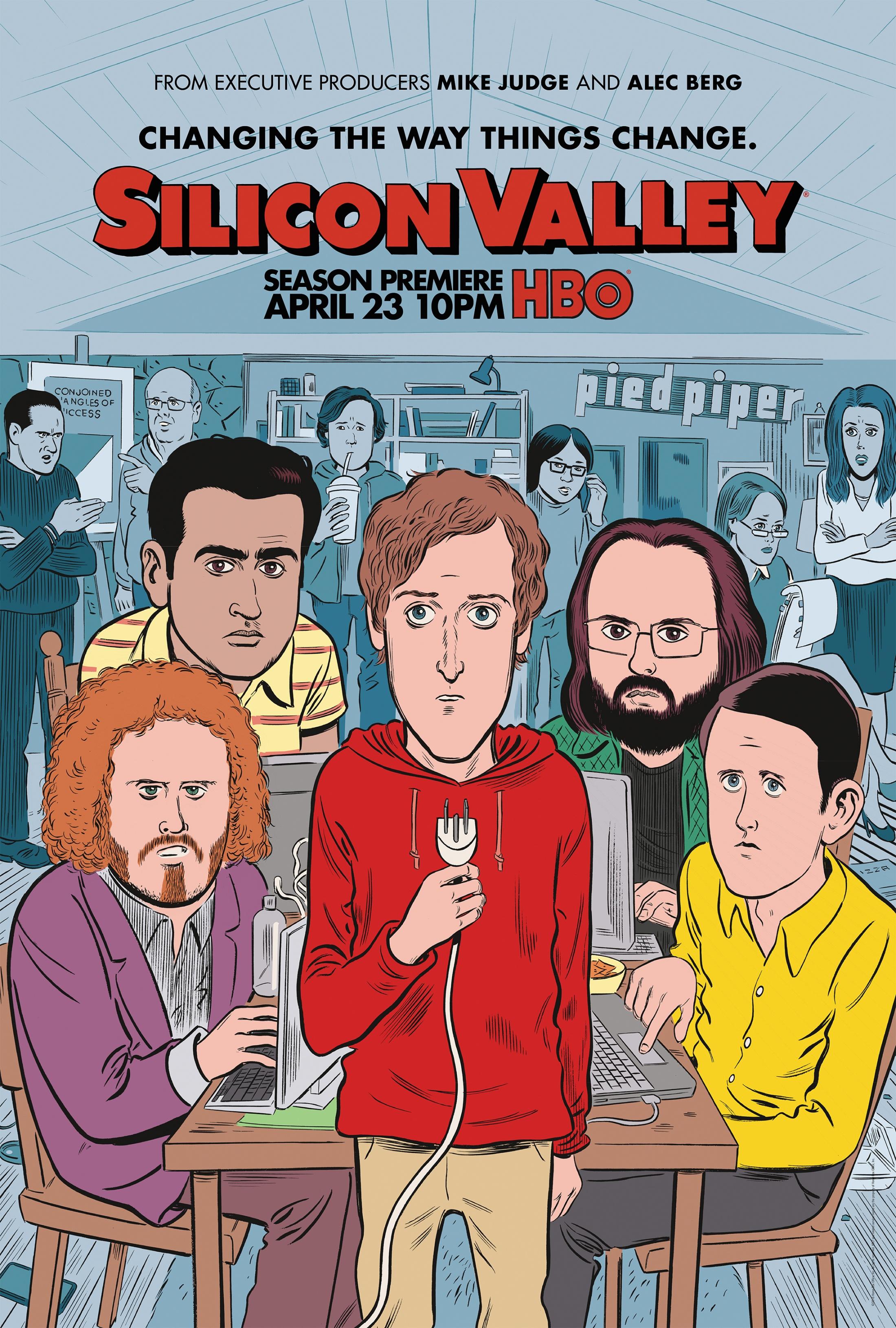 Thumbnail for Silicon Valley - Season 4