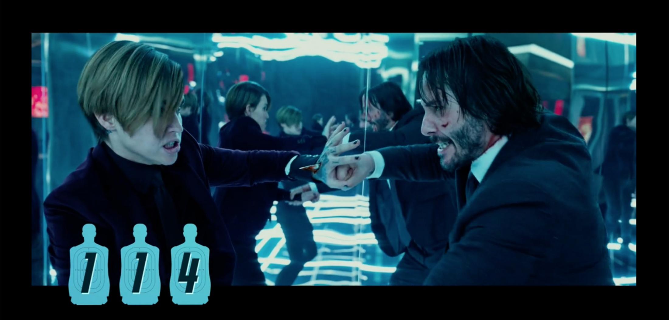Thumbnail for John Wick 2: Kill Count