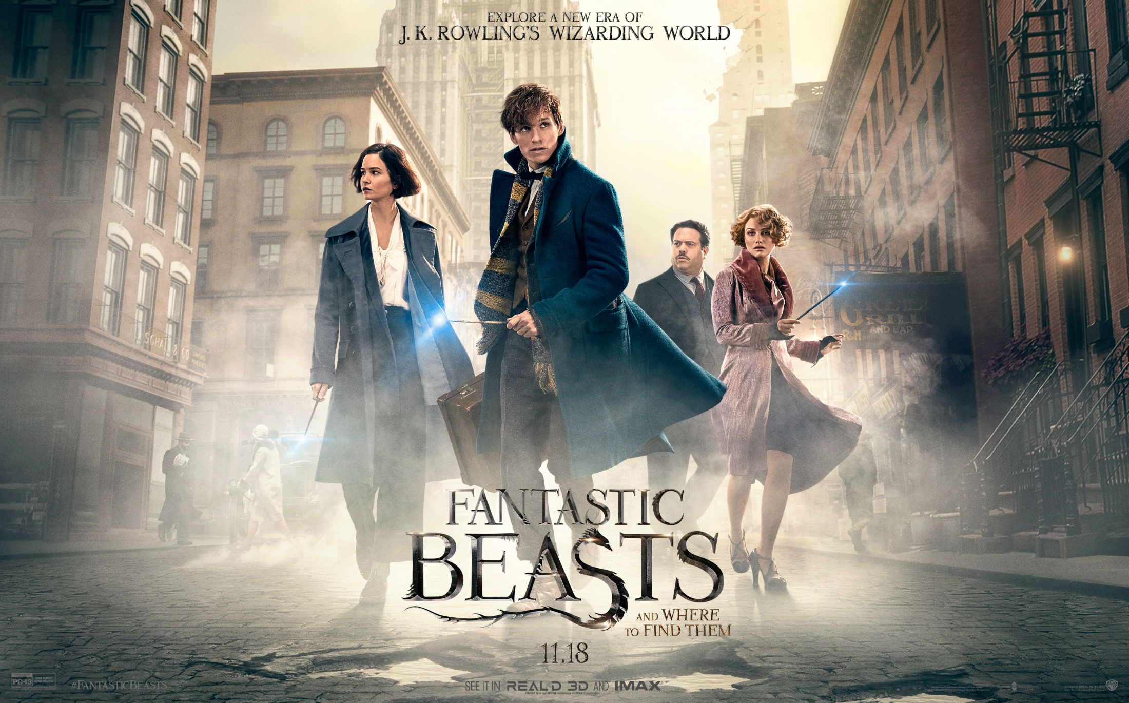 Thumbnail for Fantastic Beasts and Where to Find Them - Theatrical: Integrated Campaign