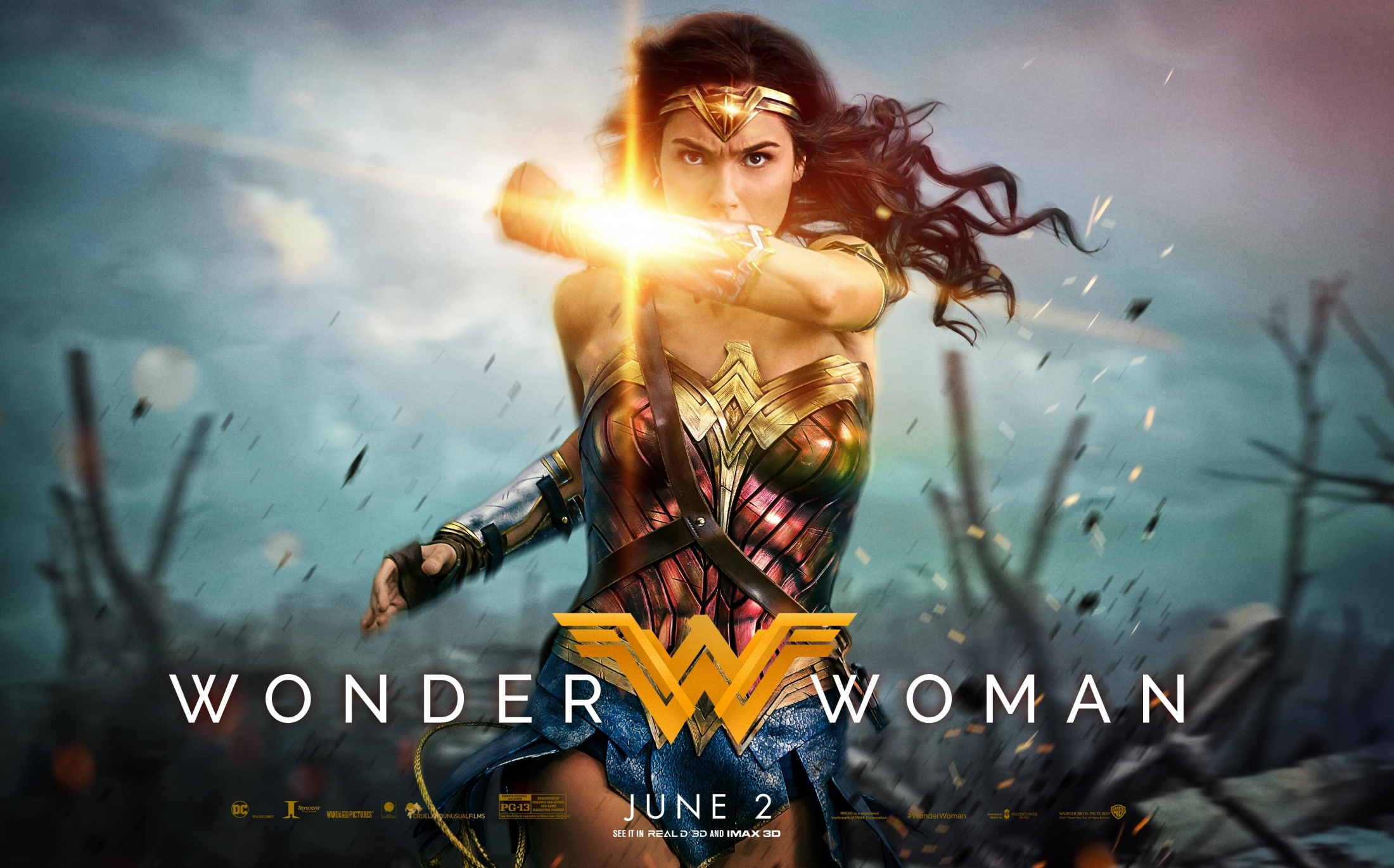 Thumbnail for Wonder Woman - Theatrical: Integrated Campaign