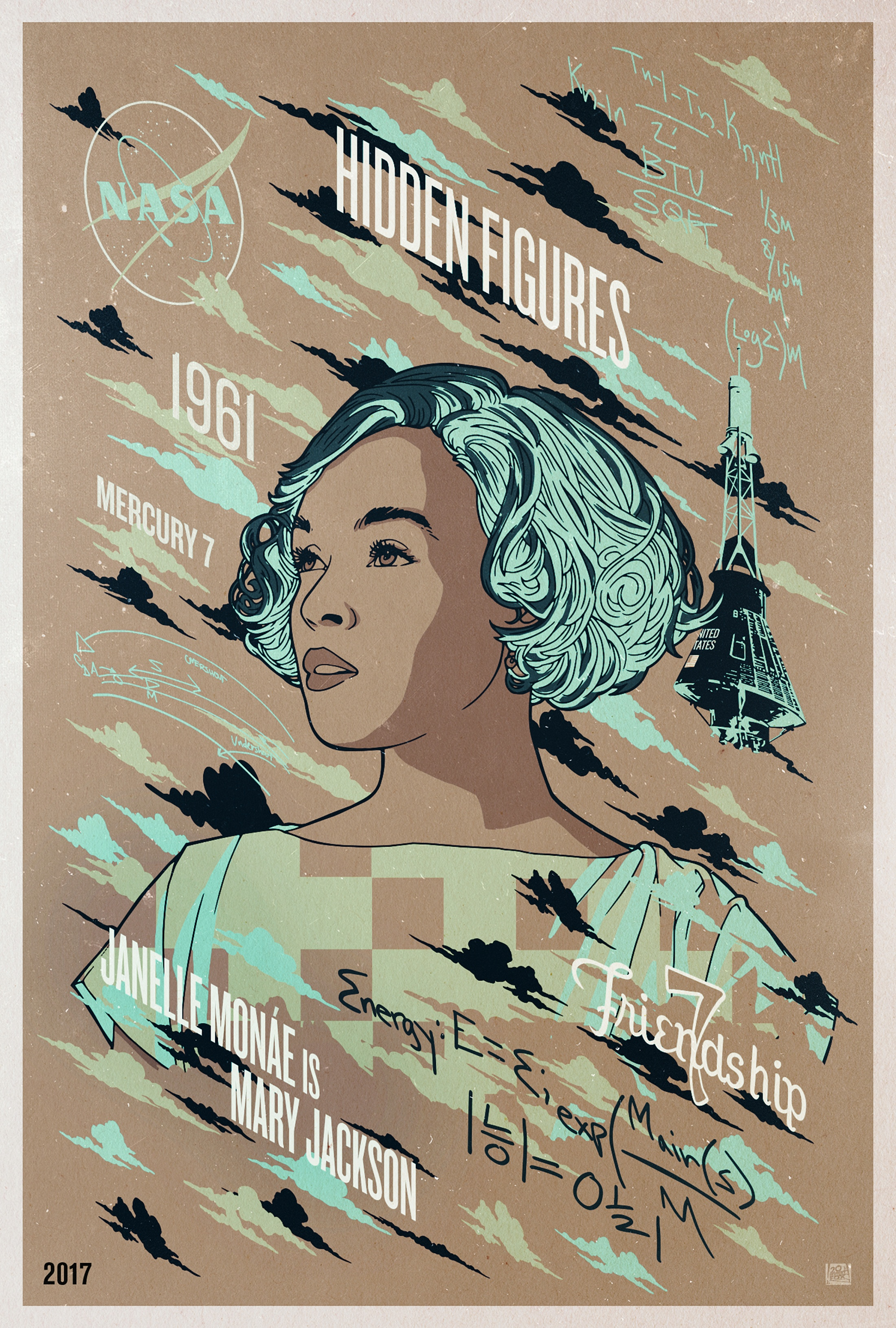 Image Media for COPY OF: Hidden Figures - Character Series