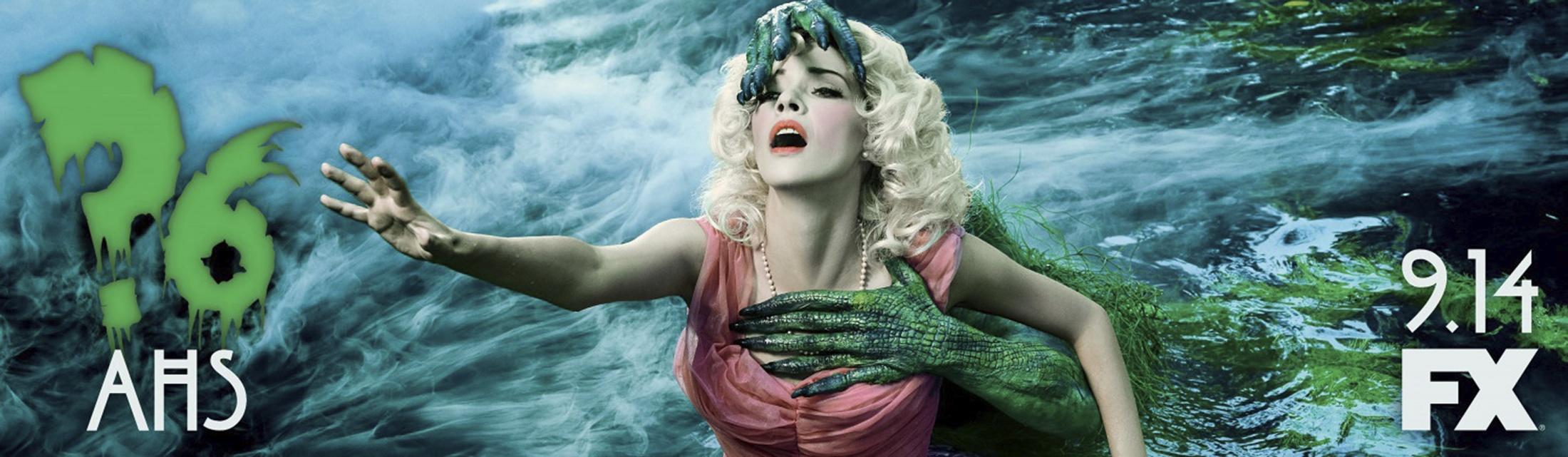 Thumbnail for American Horror Story - Roanoke teaser billboard (lagoon creature)