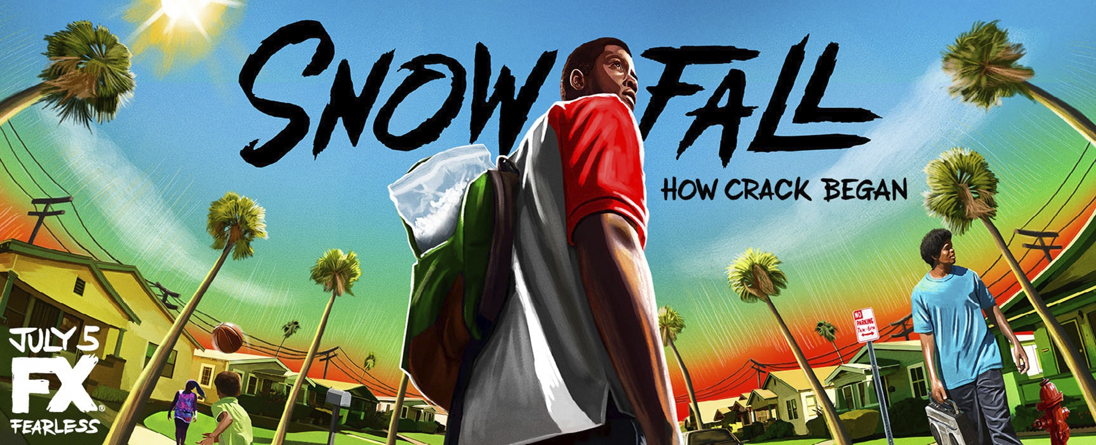 Thumbnail for Snowfall billboard (Franklin)