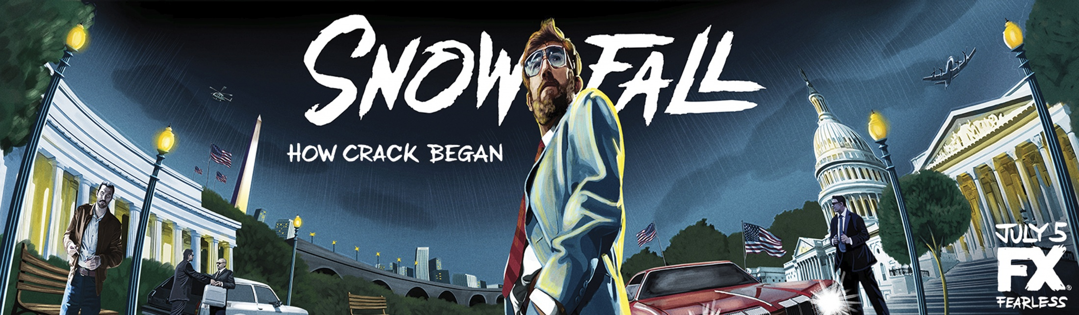 Thumbnail for Snowfall billboard (Teddy)