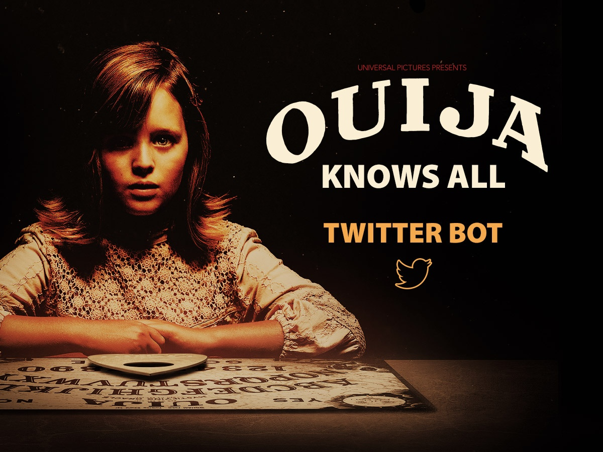 Thumbnail for Ouija Knows All Twitter bot