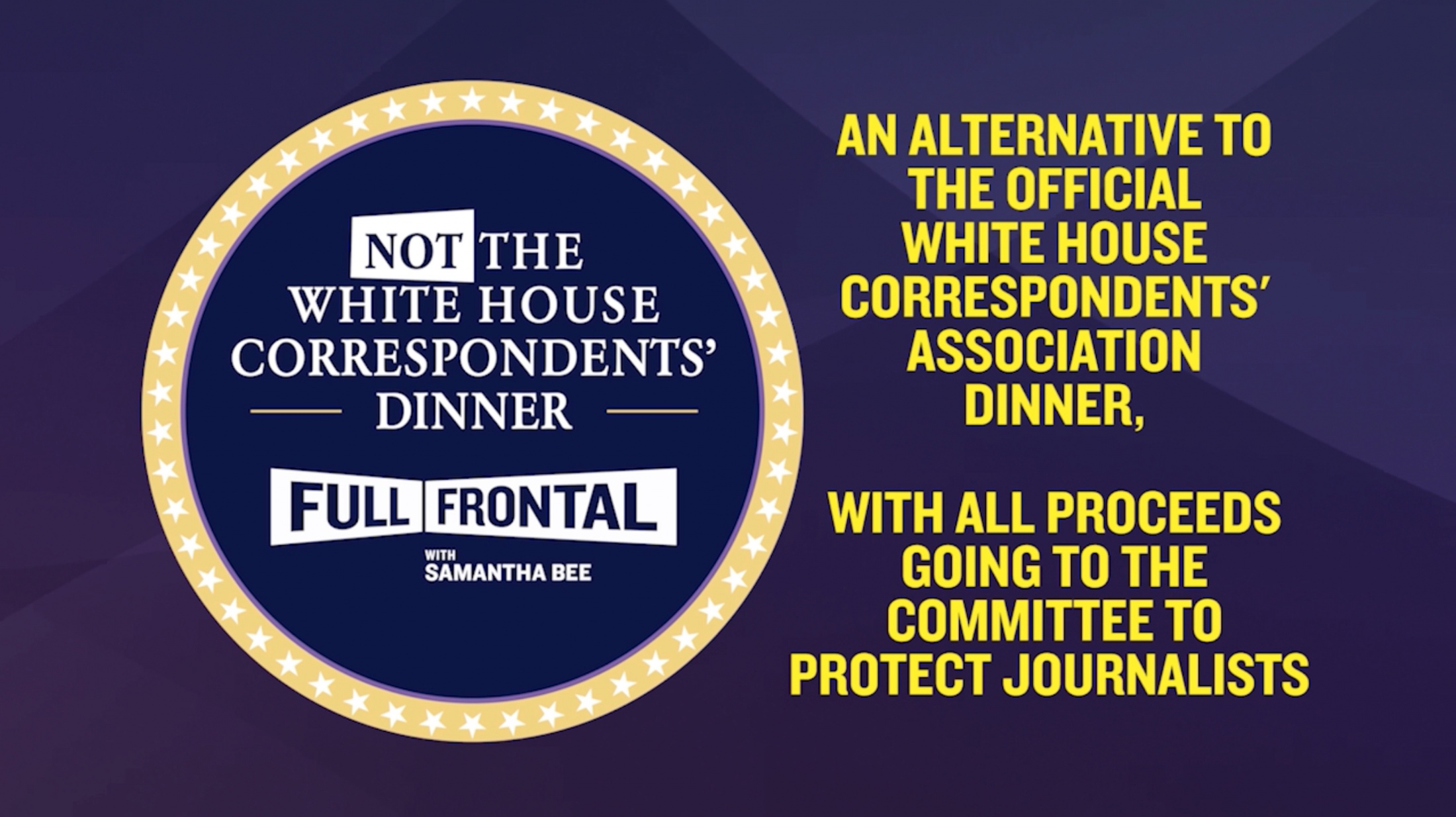 Thumbnail for Full Frontal: Not The White House Correspondents Dinner Event