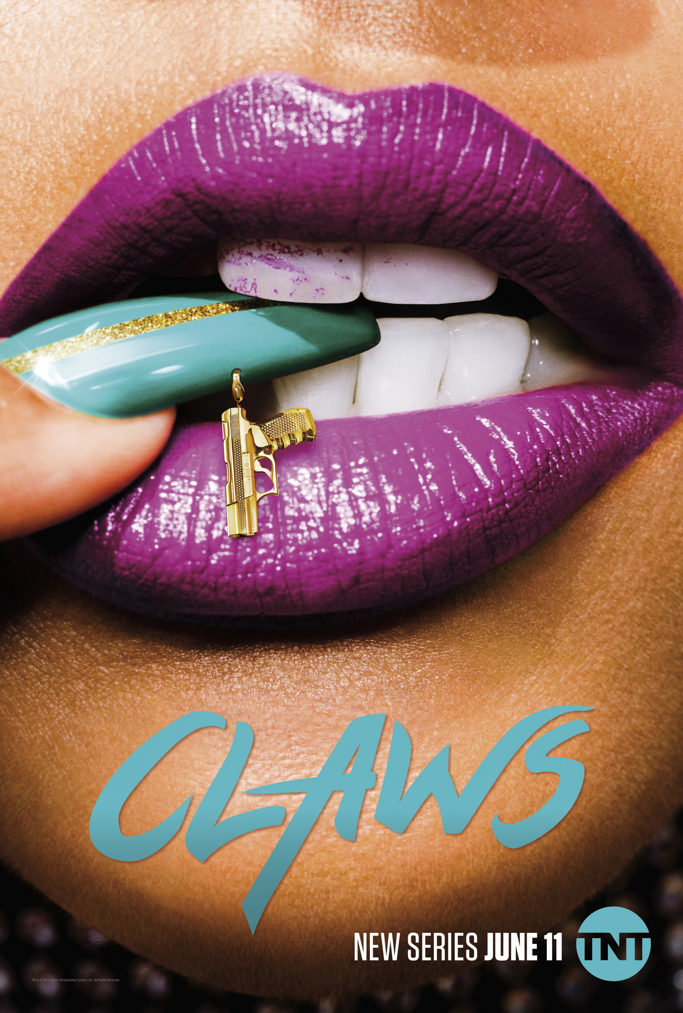 Thumbnail for Claws Key Art - Lips (Vertical)