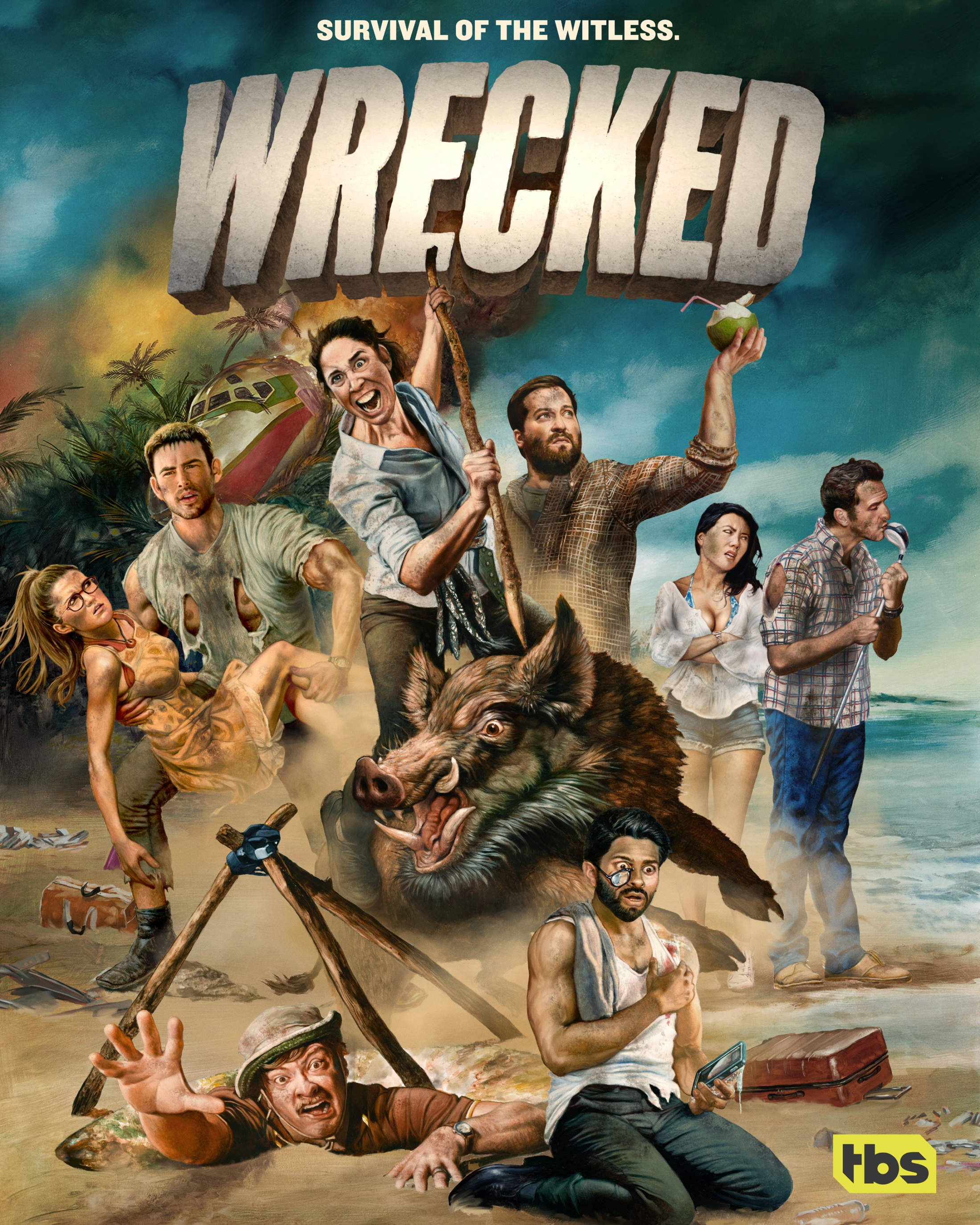 Thumbnail for Wrecked S2 Pop Up Island Tour