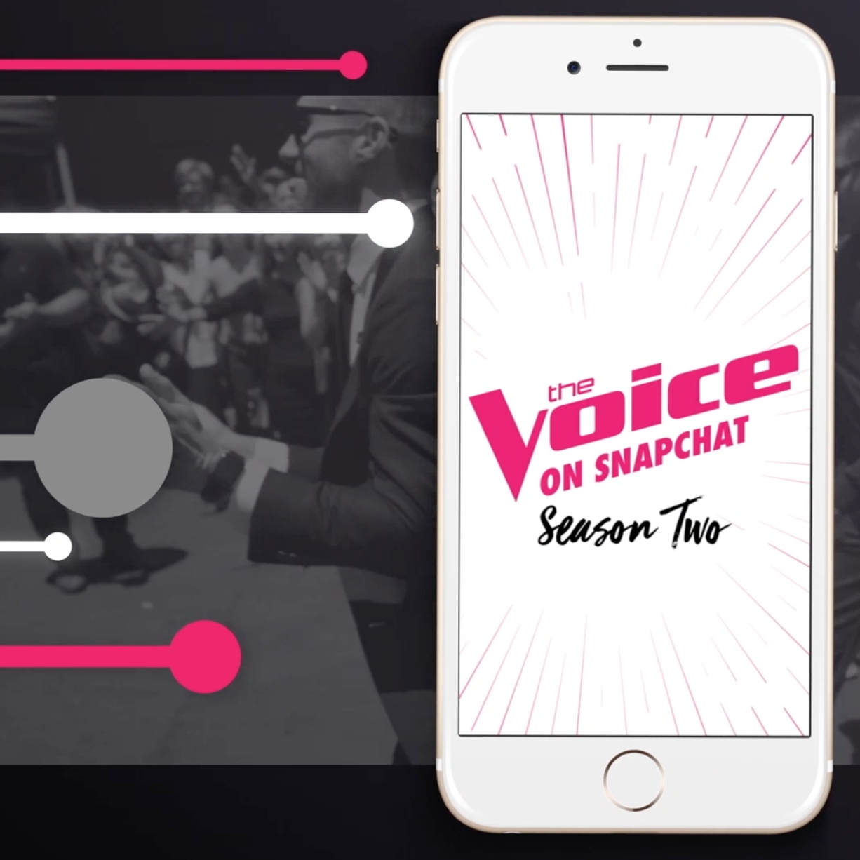 Thumbnail for The Voice on Snapchat
