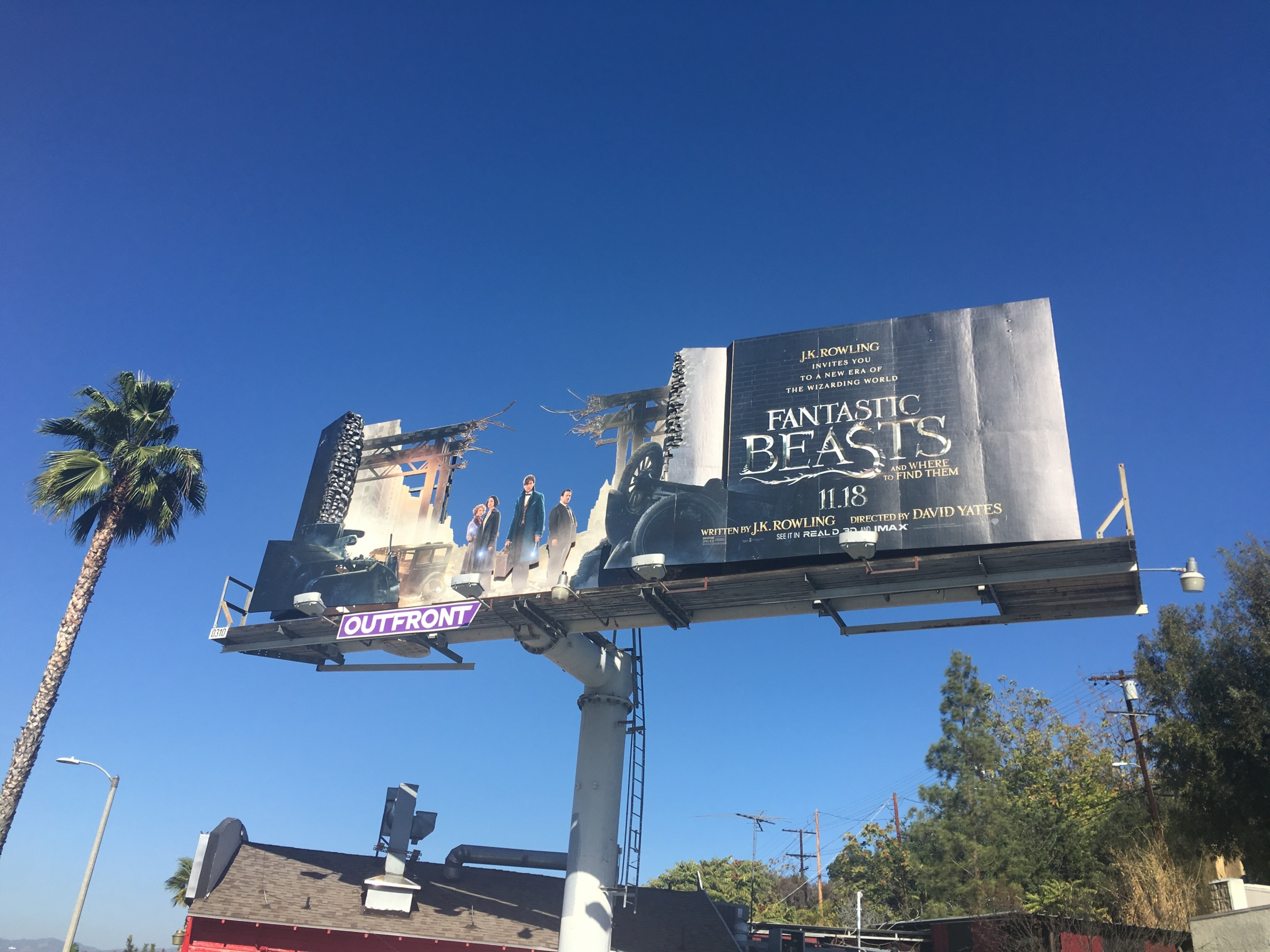 Thumbnail for Fantastic Beasts and Where to Find Them, 3D Billboard