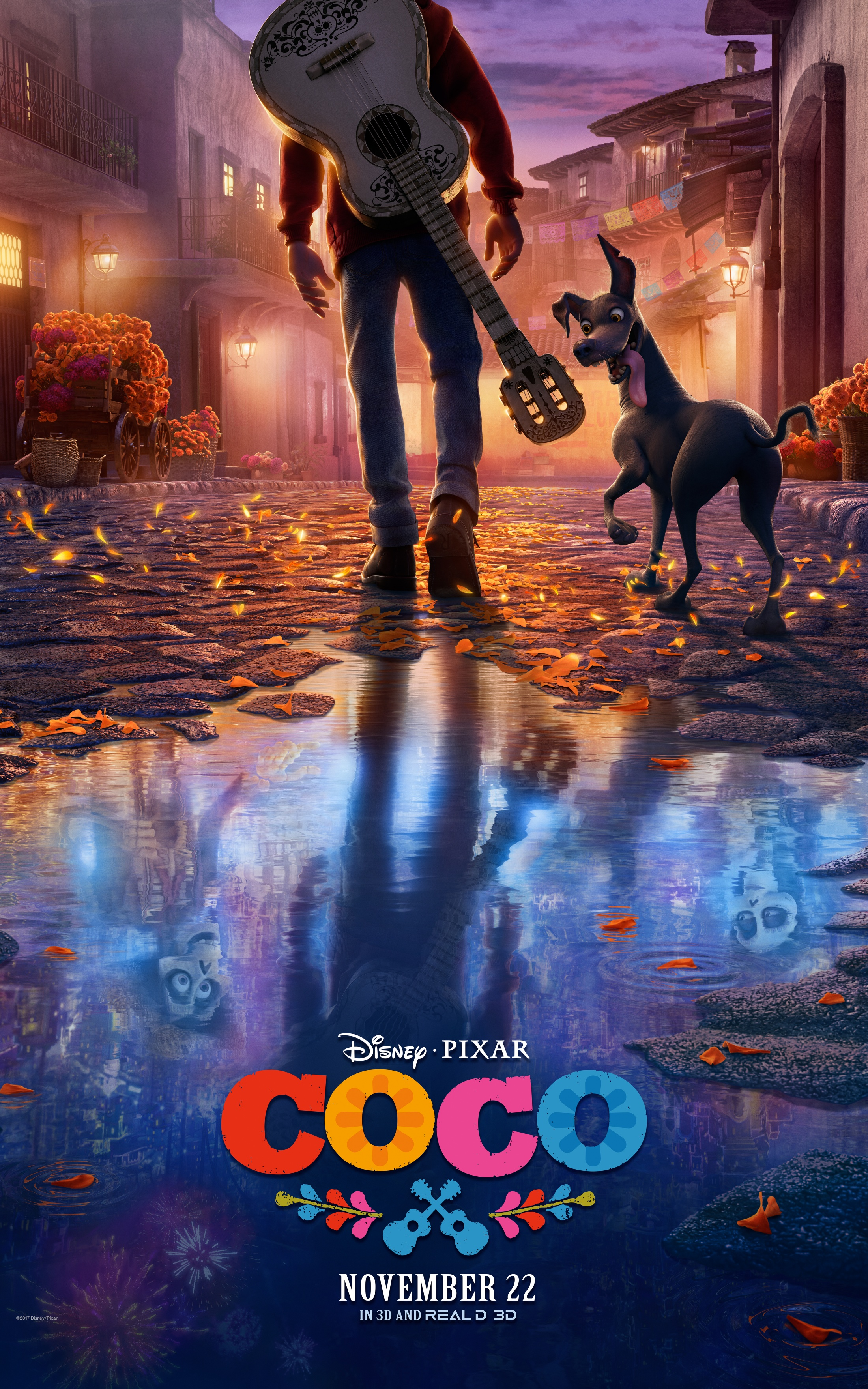 Thumbnail for COCO In-Theatre Domestic Banner Stand & International Poster