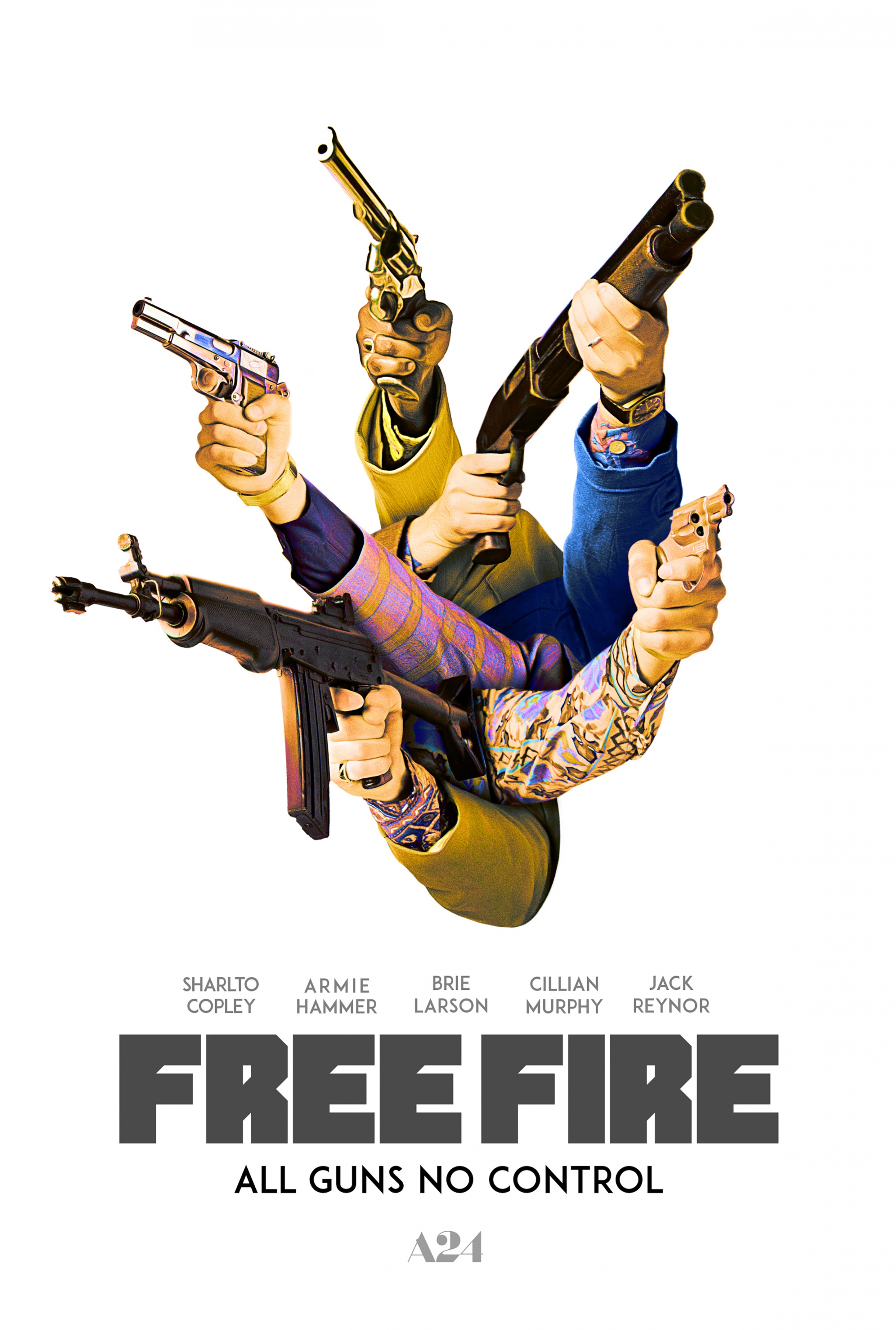 Image Media for Free Fire One-Sheet Teaser