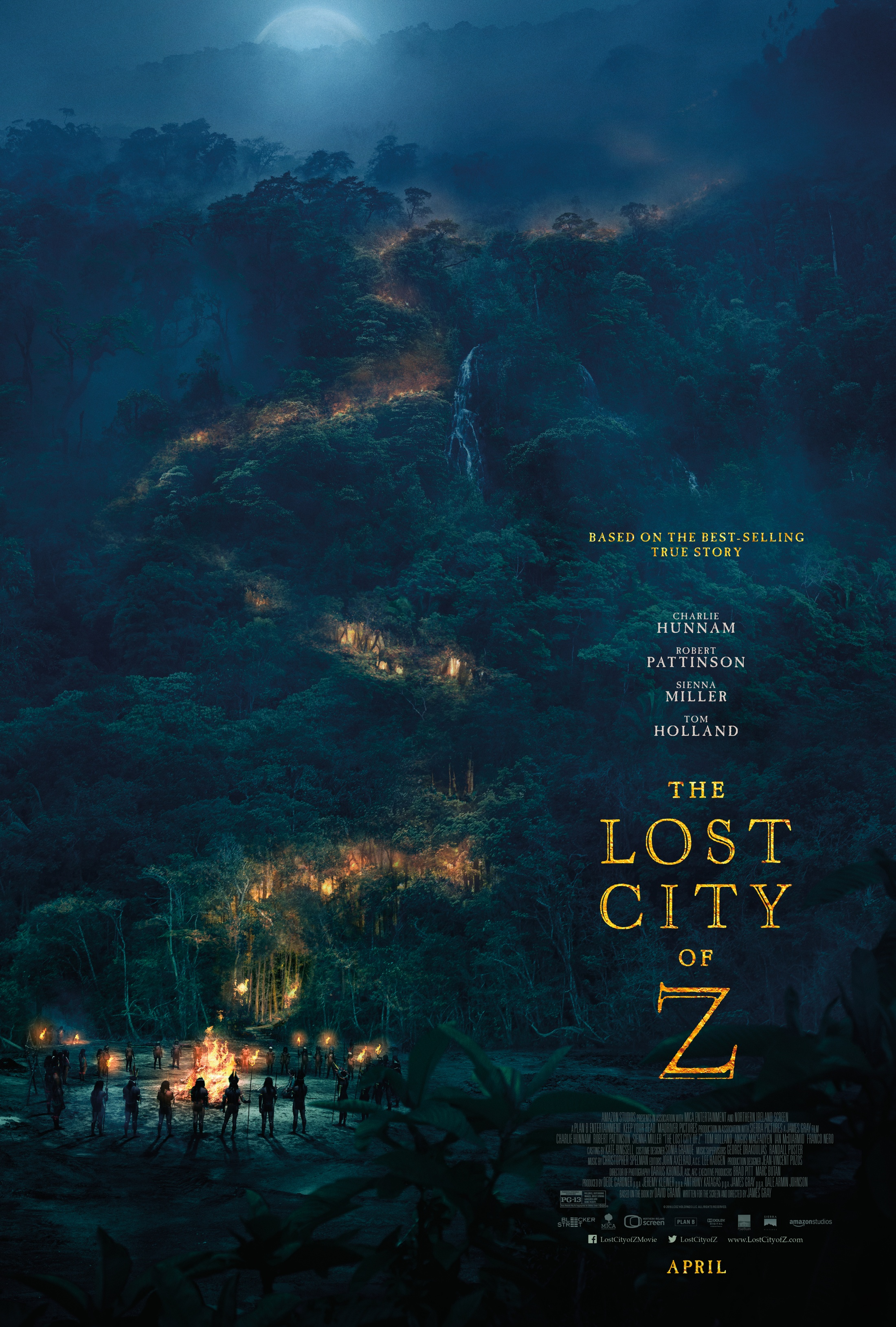 Thumbnail for Lost City of Z One-Sheet