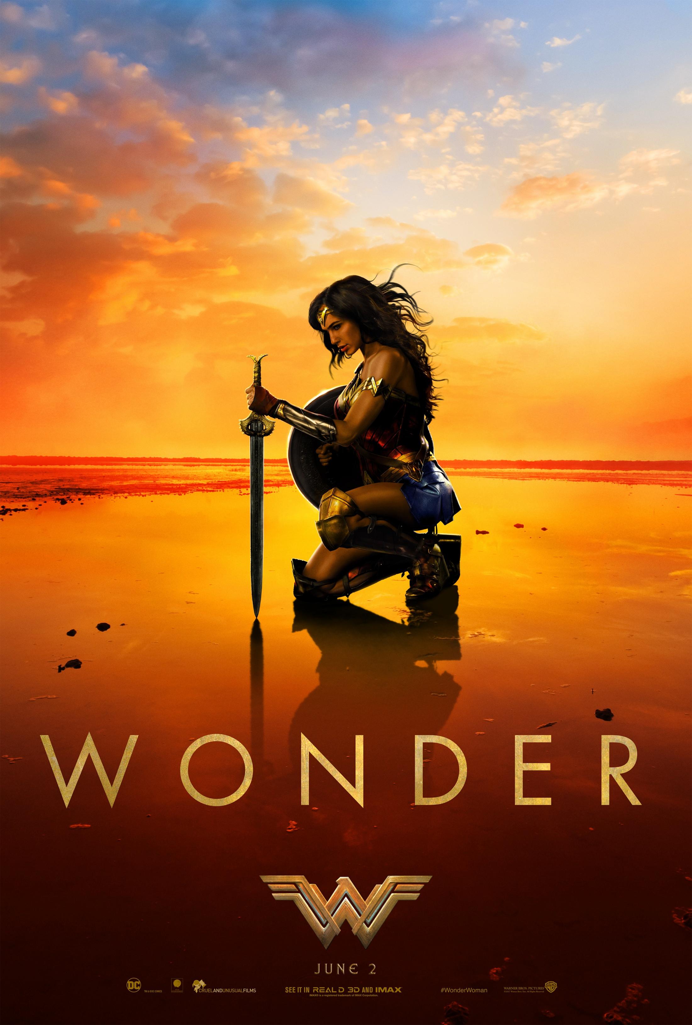 Thumbnail for Wonder Woman One-Sheet Teaser