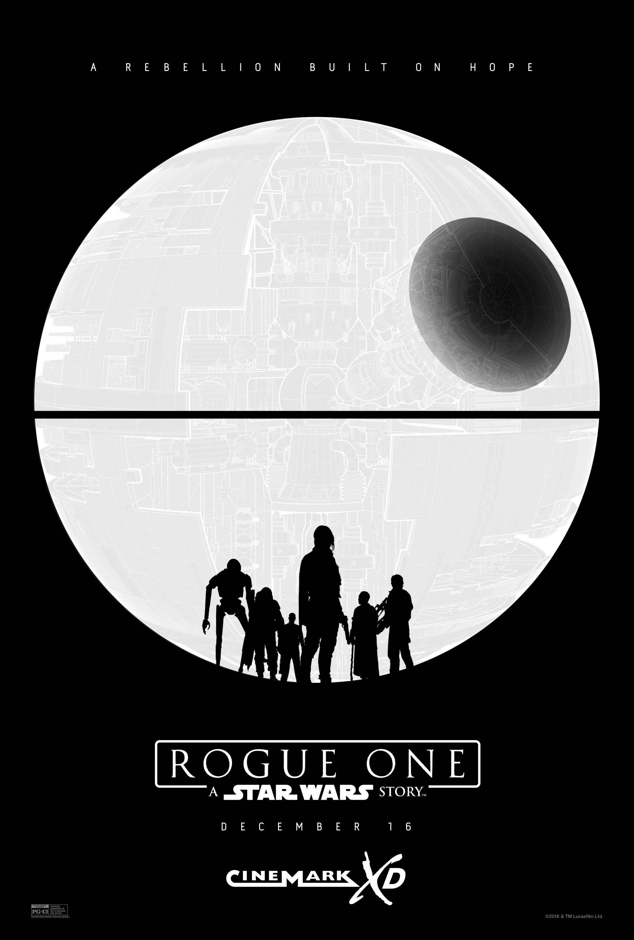 Image Media for Rogue One Cinemark One Sheet
