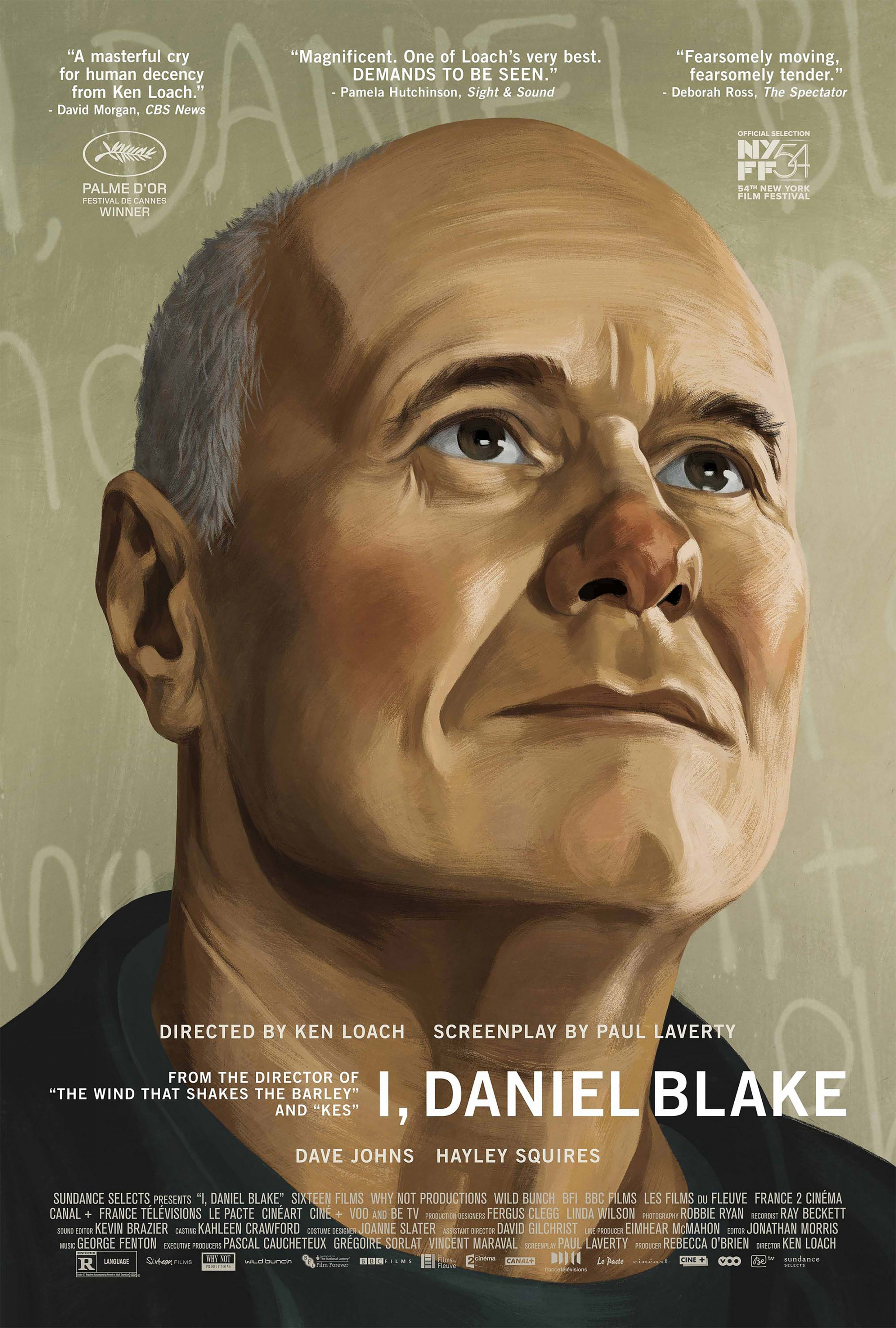 Image Media for I, Daniel Blake Domestic One Sheet