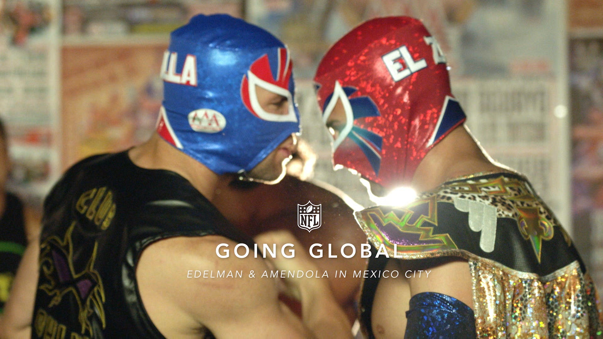 Image Media for Going Global: Danny Amendola and Julian Edelman in Mexico