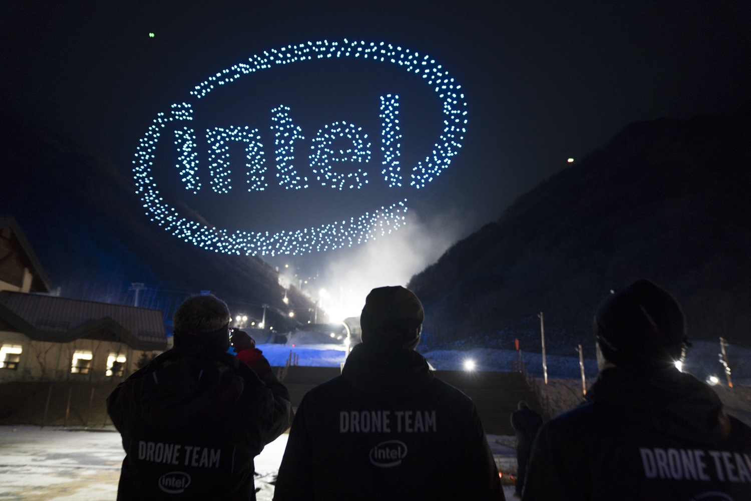 Image Media for Intel Drone Light Show at The Olympics