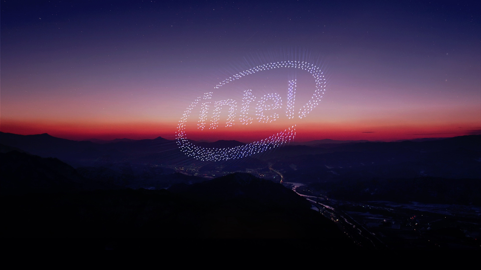 Thumbnail for Intel Drone Light Show at The Olympics