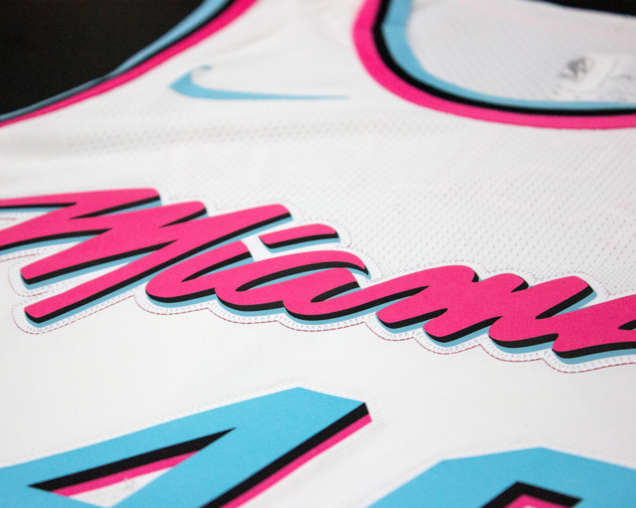 Image Media for Miami HEAT Vice Uniform