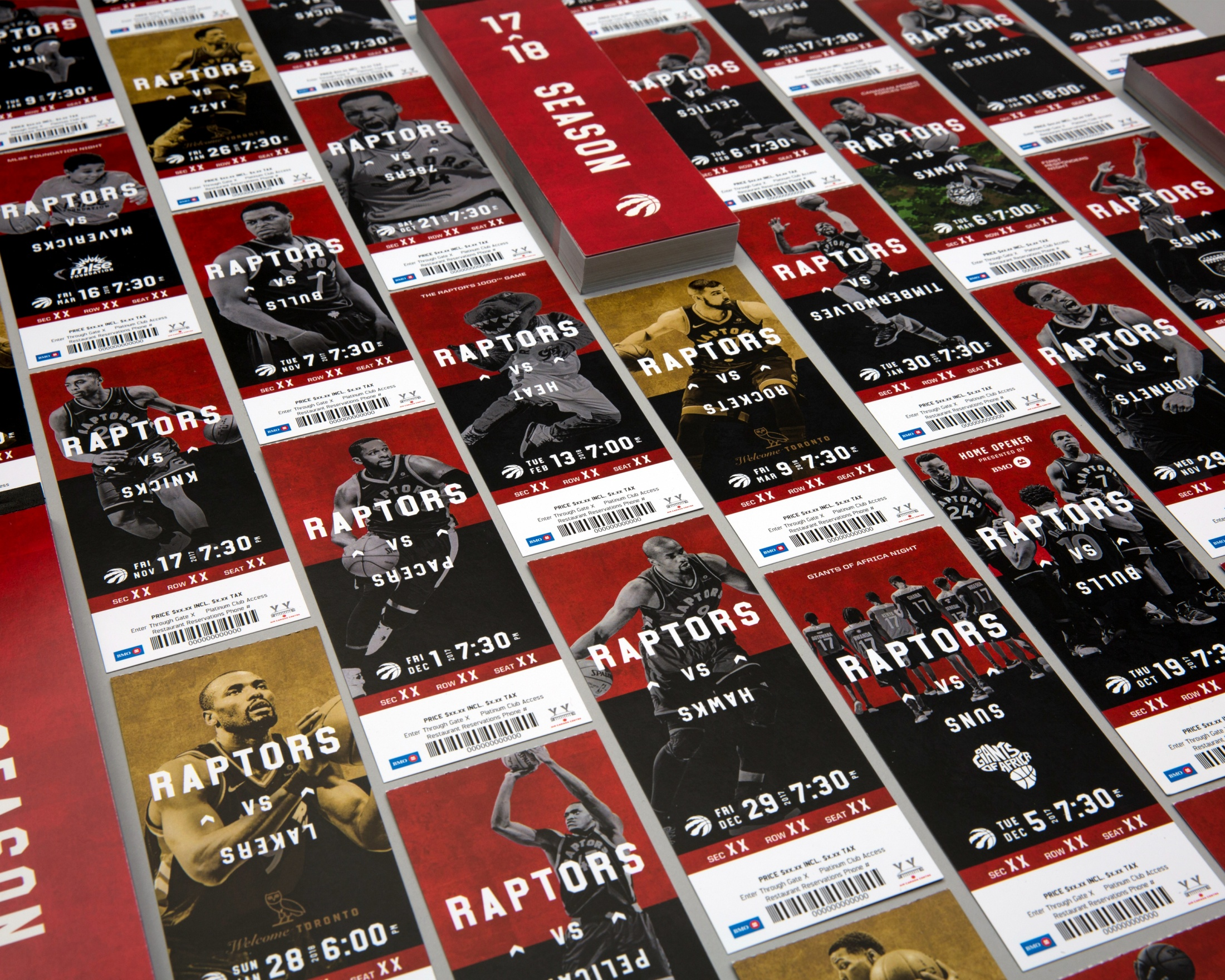 Thumbnail for Toronto Raptors Season Ticket Package 2017-18