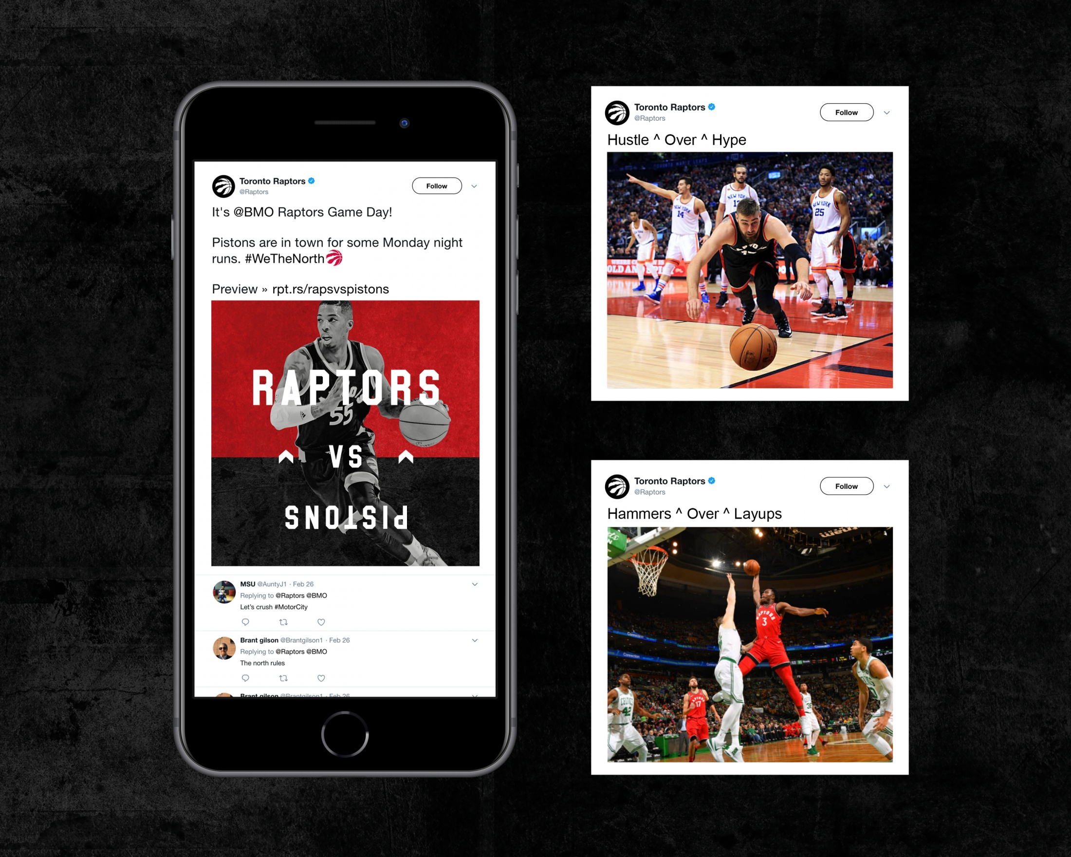 Image Media for Toronto Raptors 'North Over Everything'