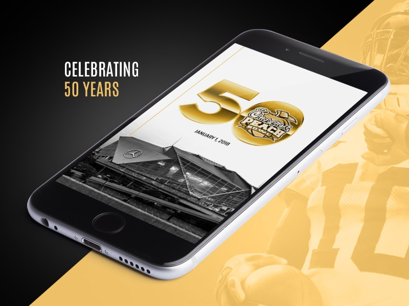 Thumbnail for Peach Bowl 50 Year Mobile Experience