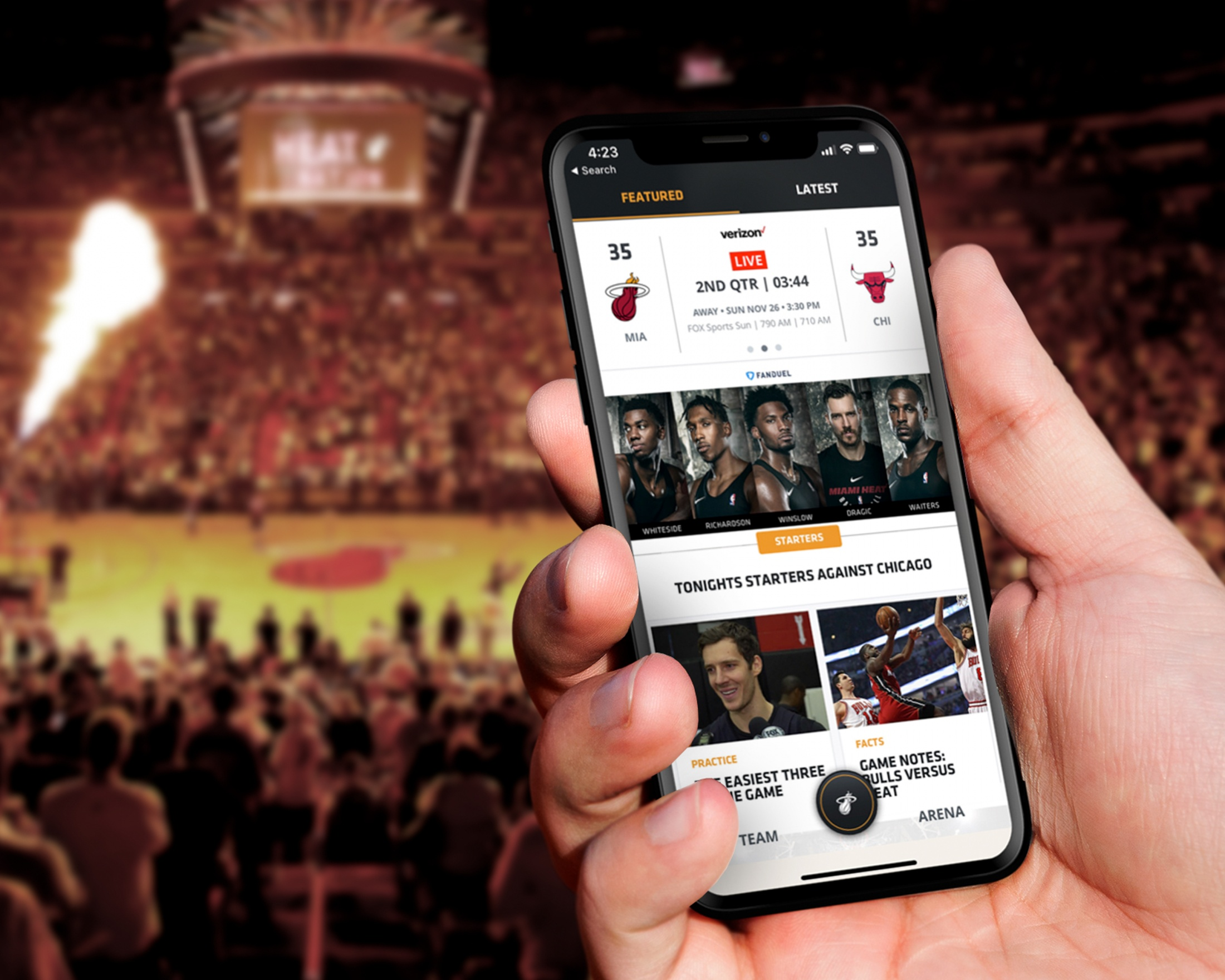 Thumbnail for Miami HEAT App