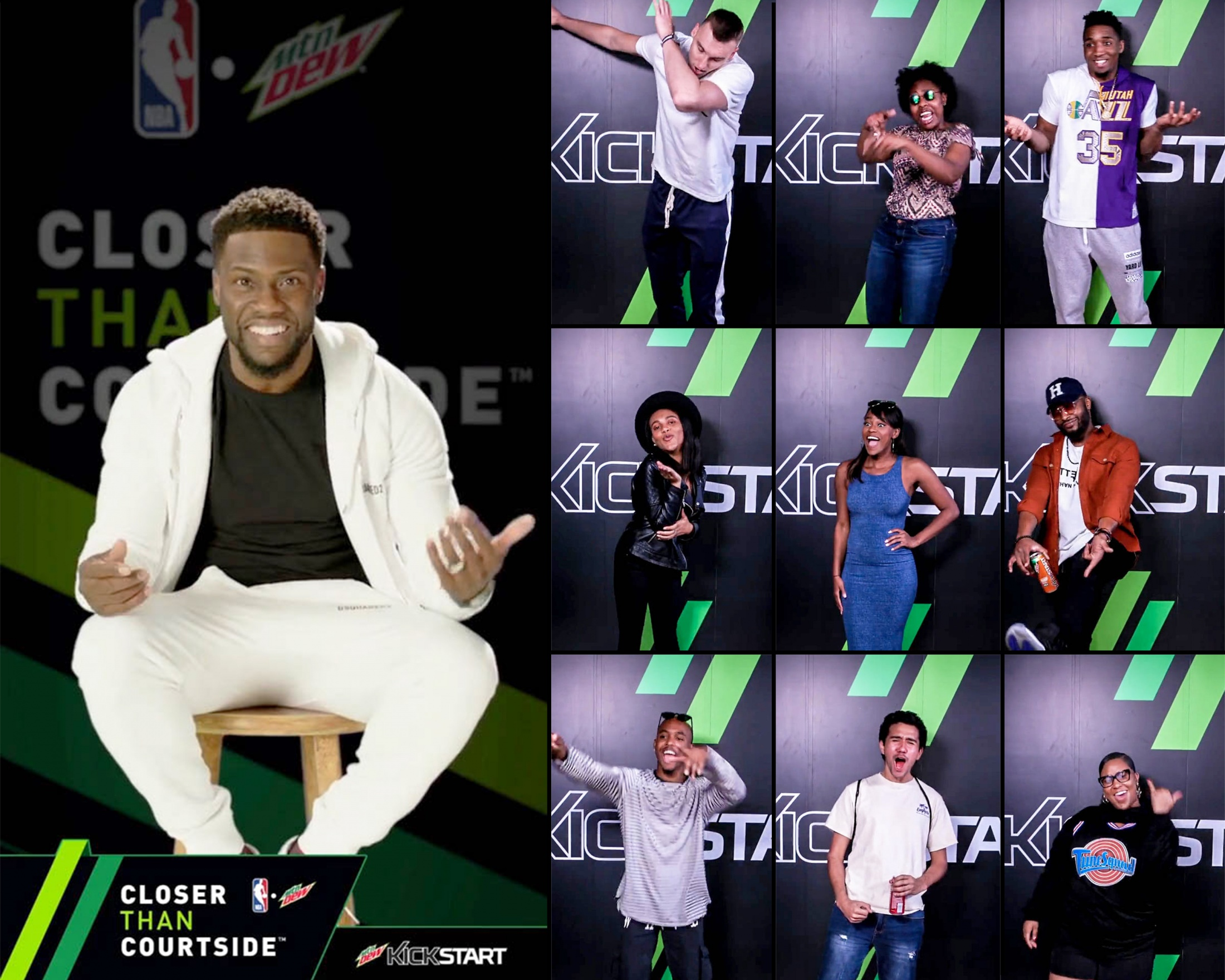 Thumbnail for Mtn Dew Kickstart Courtside Studios