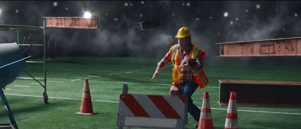 Image Media for ESPN - Monday Night Football 'Construction Worker'