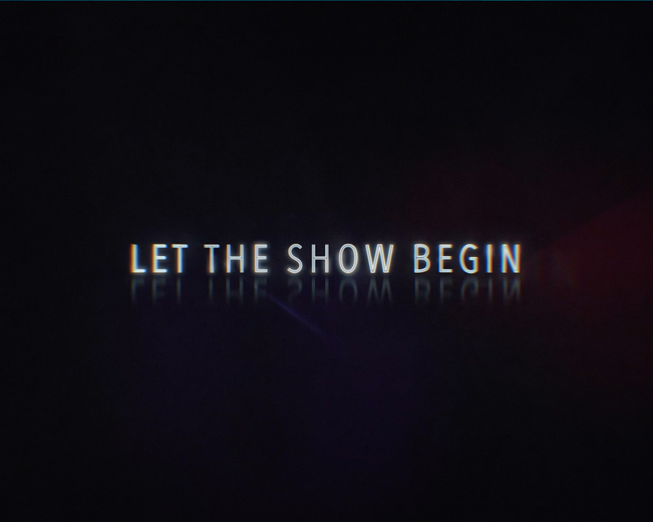 Thumbnail for Let the Show Begin