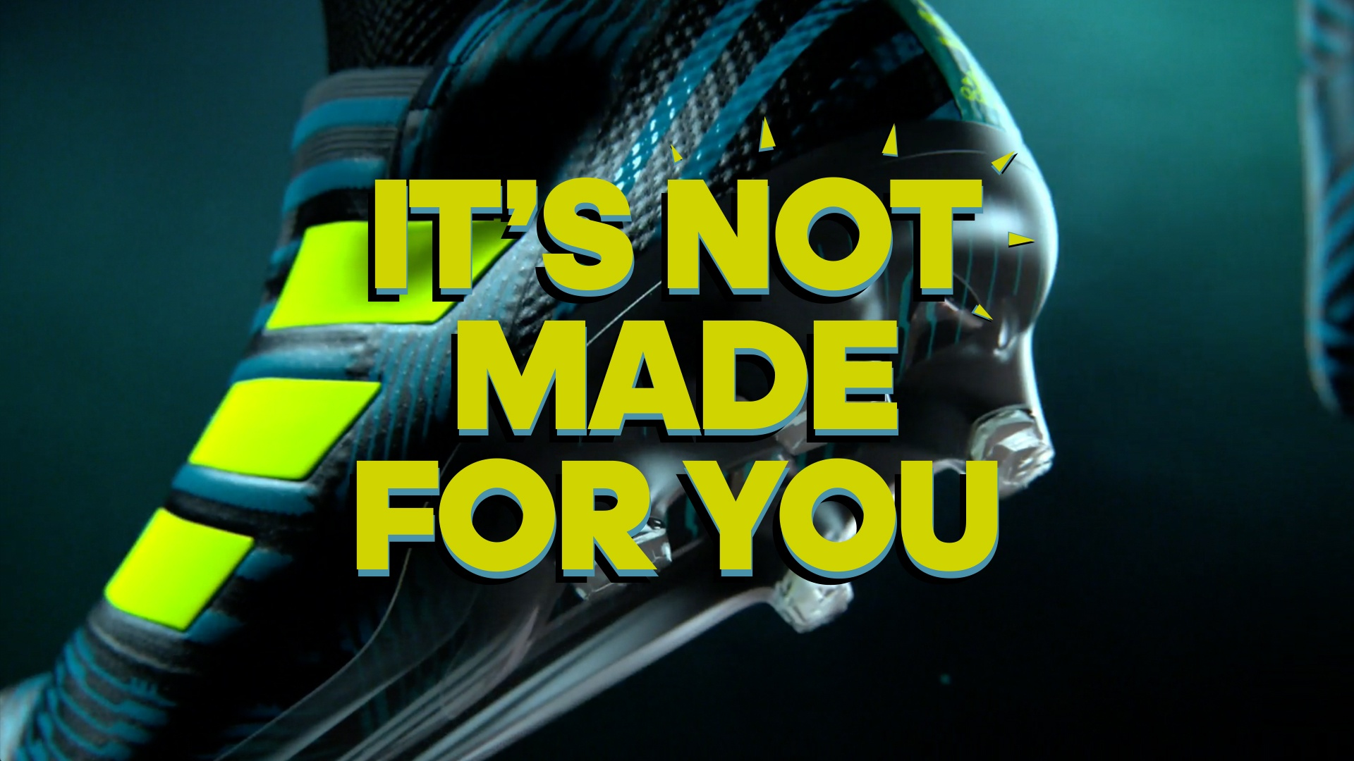 Thumbnail for adidas Nemeziz - it's not made for you