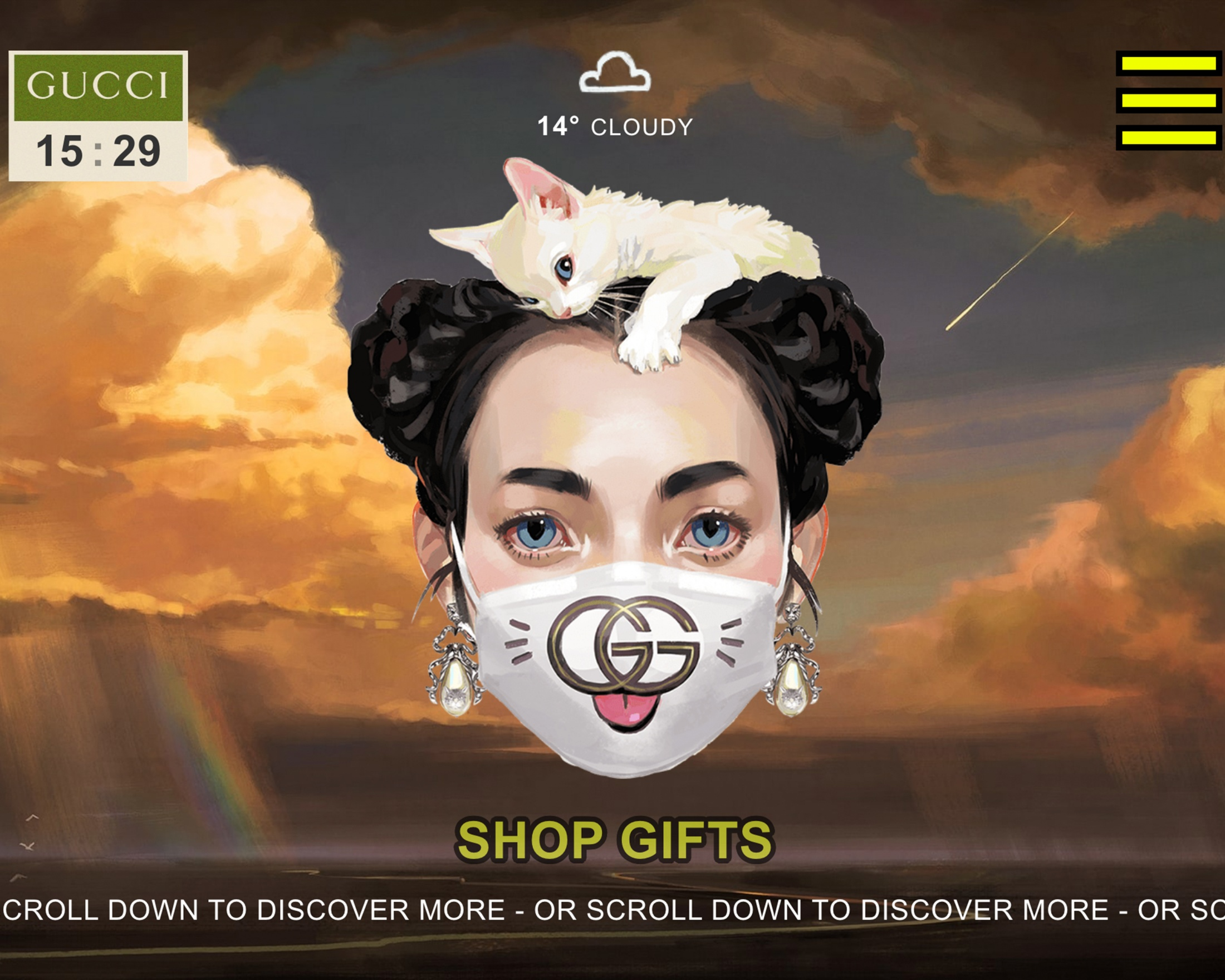 Thumbnail for GUCCI GIFT DIGITAL ACTIVATIONS