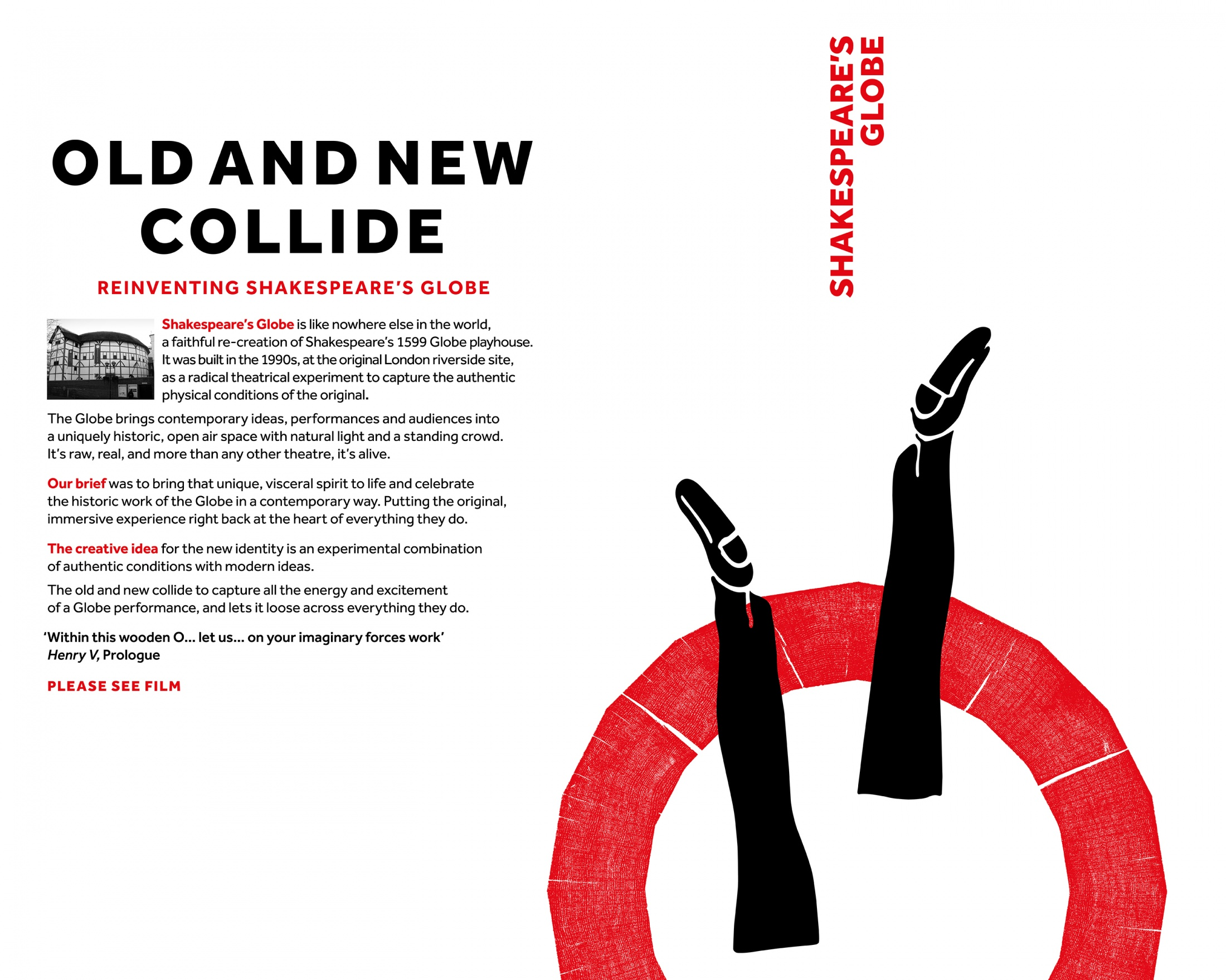 Thumbnail for The Old and new Collide: Reinventing the Shakespeare's Globe